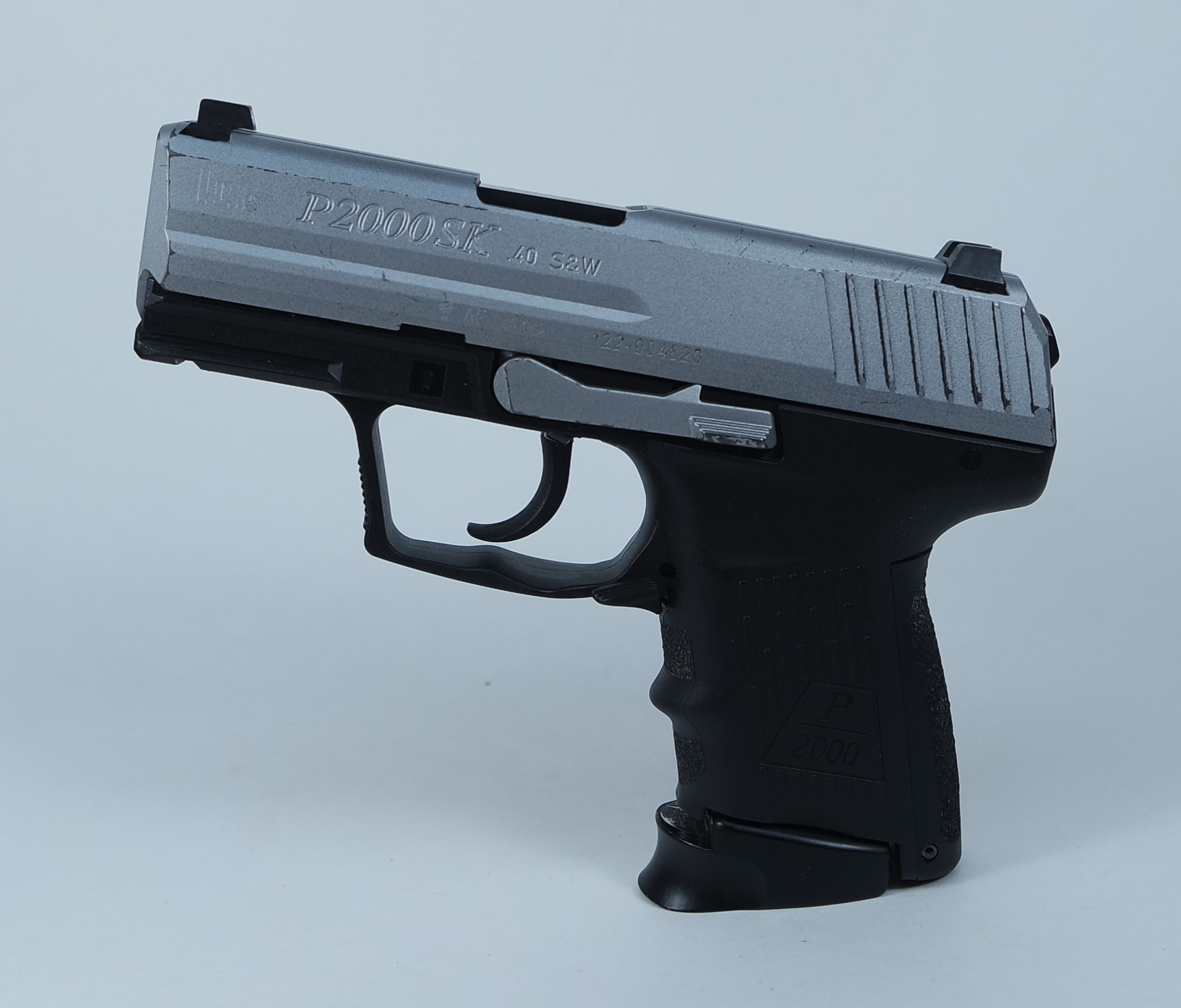 Heckler & Koch P2000SK Stainless Two Tone .40 S&W Handgun Pre-owned