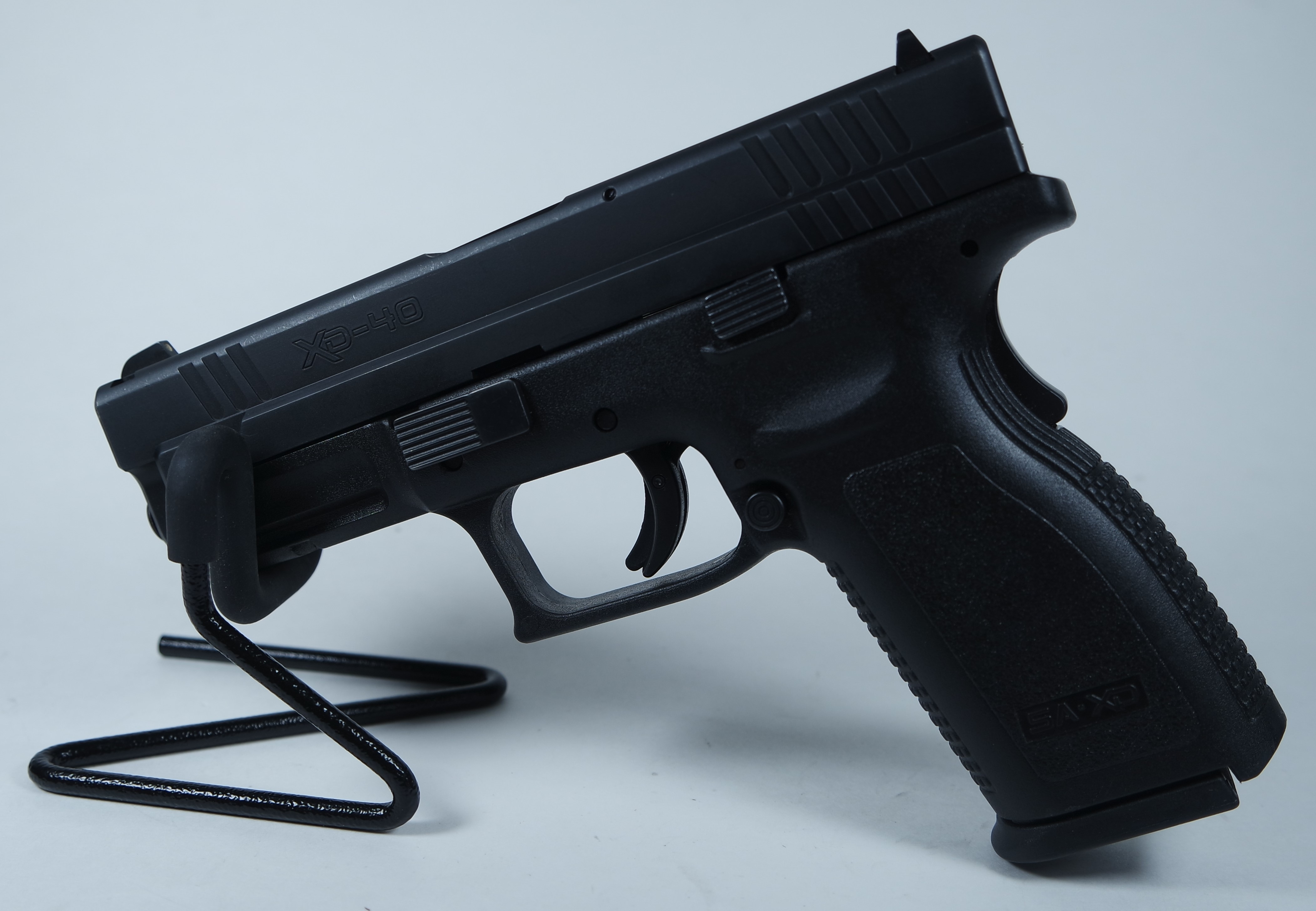 Springfield XD-40 Black .40 SW 3.75-inch 12Rd Fixed Sights USED