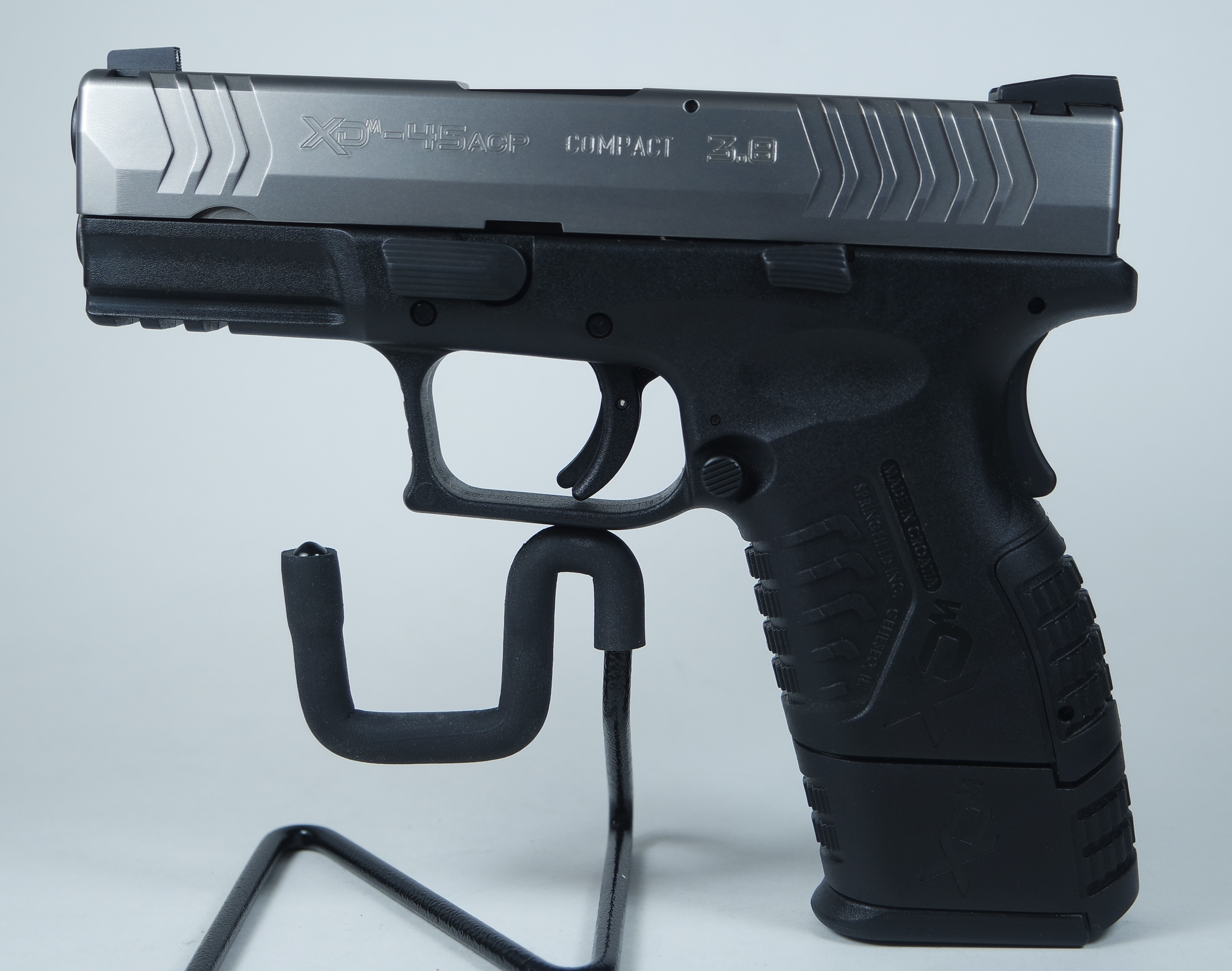 Springfield XD(M) Semi-Automatic Compact Pistol 9+1 45 ACP (XDM93845CS) Pre-owned