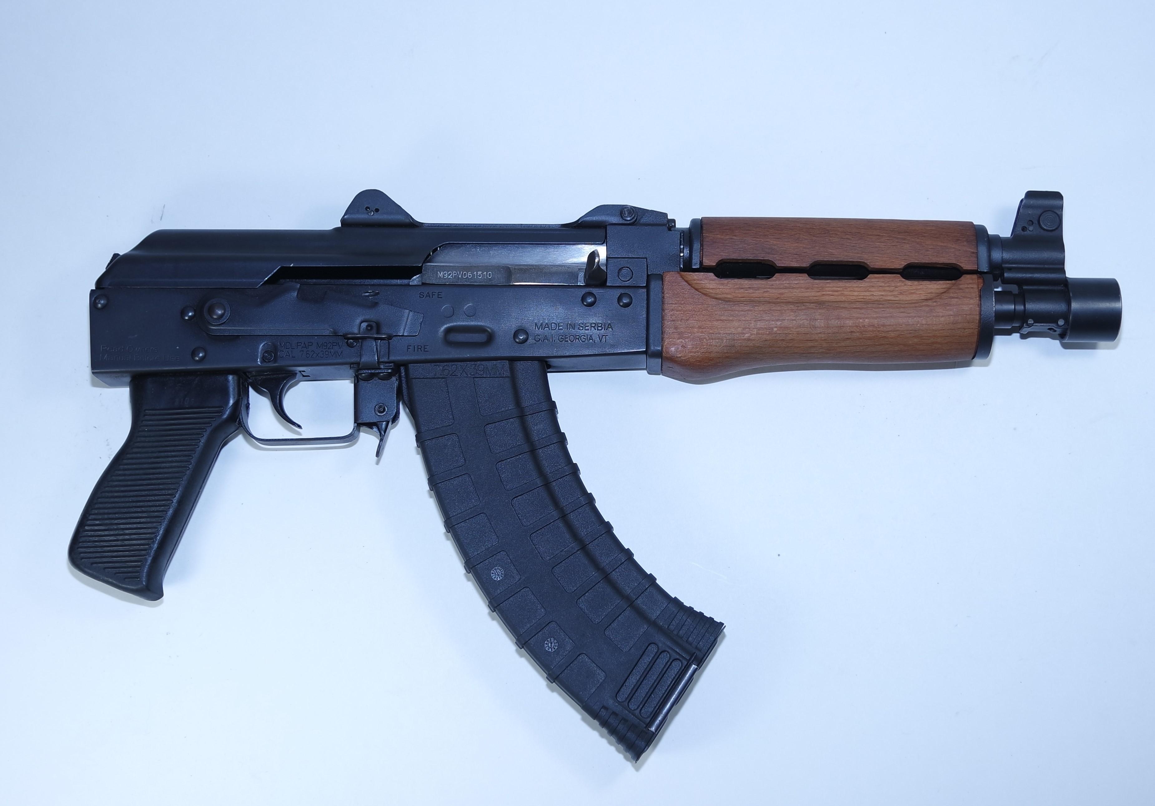 Zastava Serbia AK Pistol M92PV 10