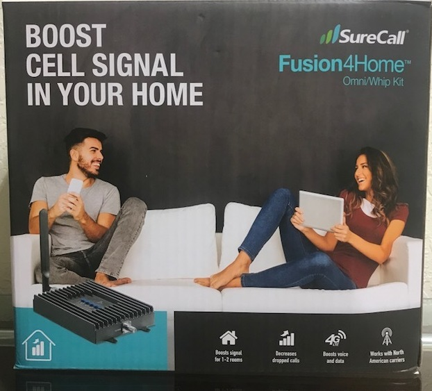 SURECALL - FUSION 4 HOME - HOME SIGNAL BOOSTER ELECTRONICS