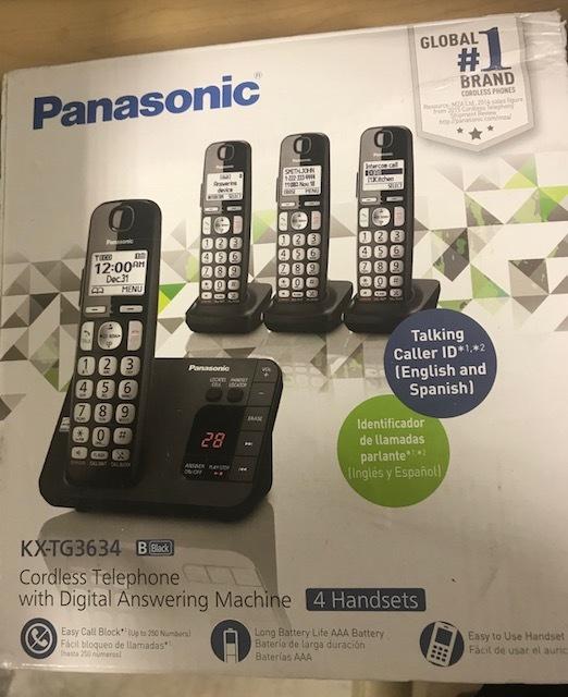 PHILIPS - KX-TG3634 - TELEPHONE HOUSEHOLD APPLIANCES
