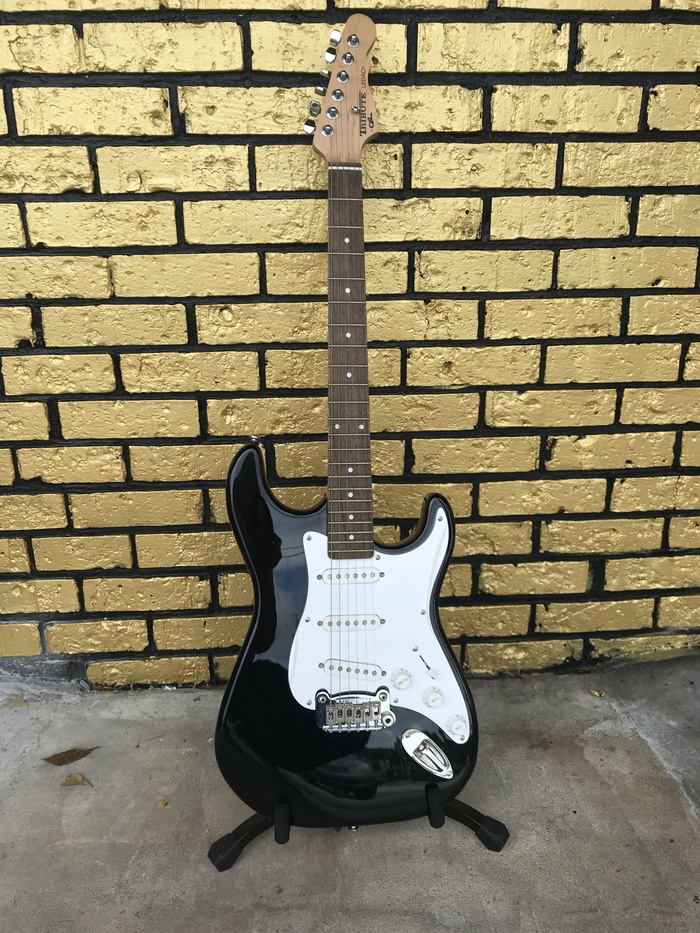G&L Tribute Legacy Electric Guitar Black and White | eBay