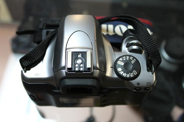 Canon Eos Rebel K2 Film Digital Camera Body