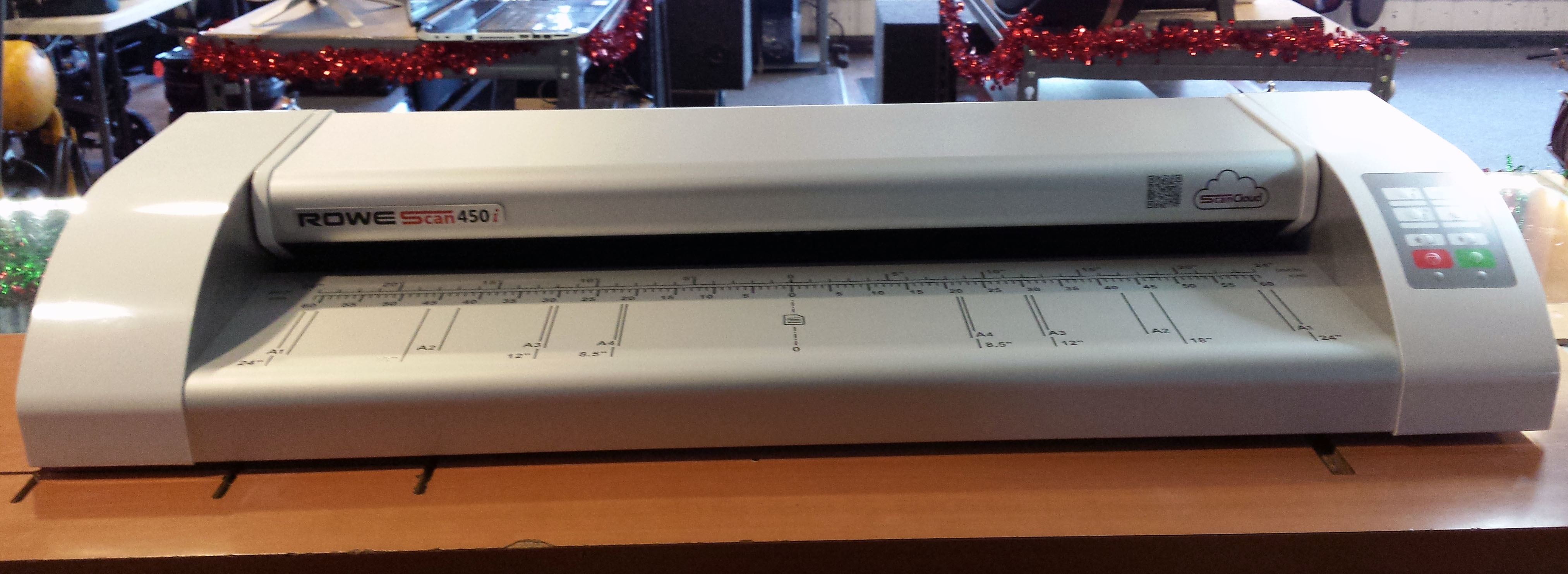 Rowe 450i Large Wide Format Sheet-fed Industrial Color Scanner 24