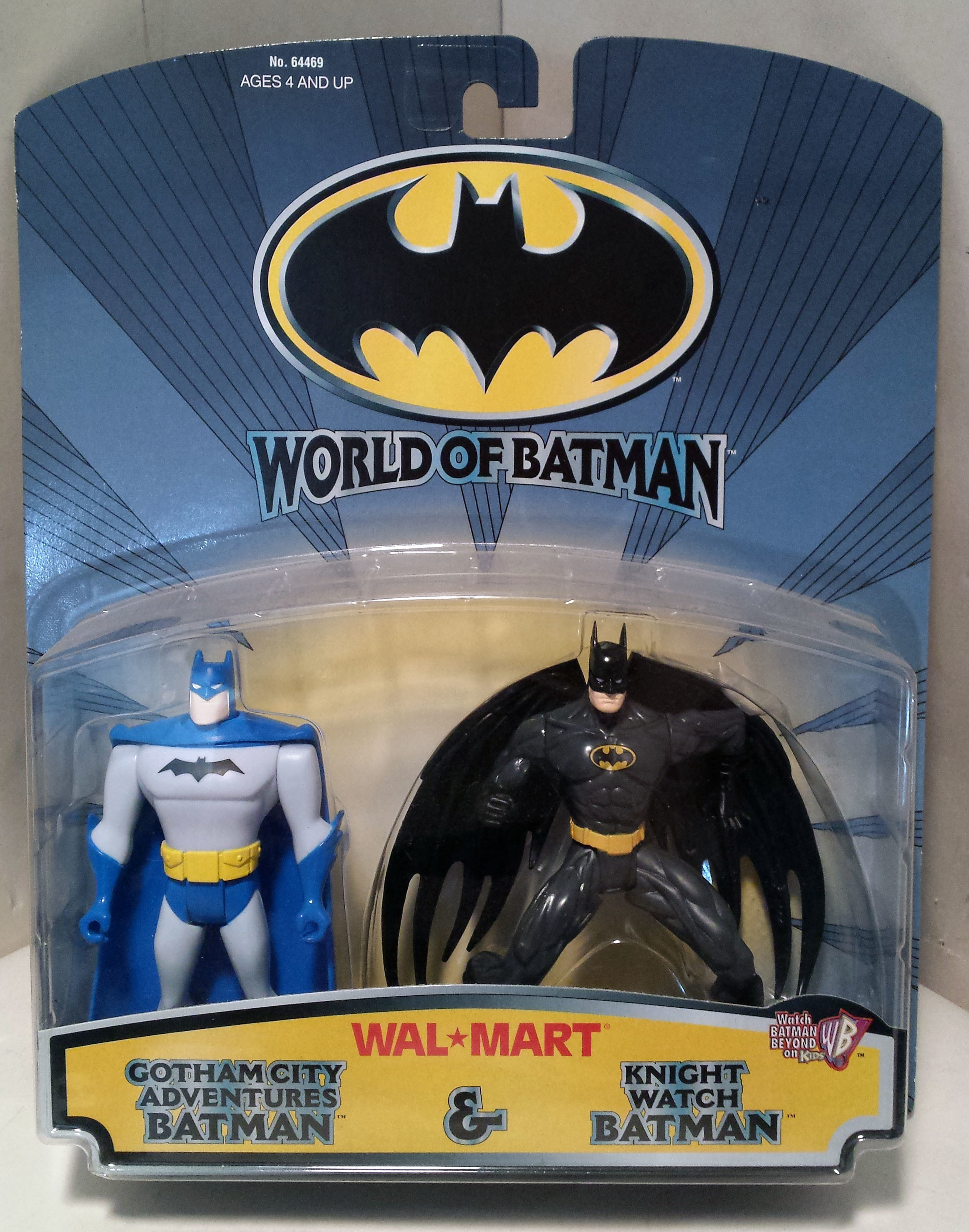HASBRO '99 WALMART GOTHAM CITY ADVENTURES BATMAN & KNIGHT WATCH 5