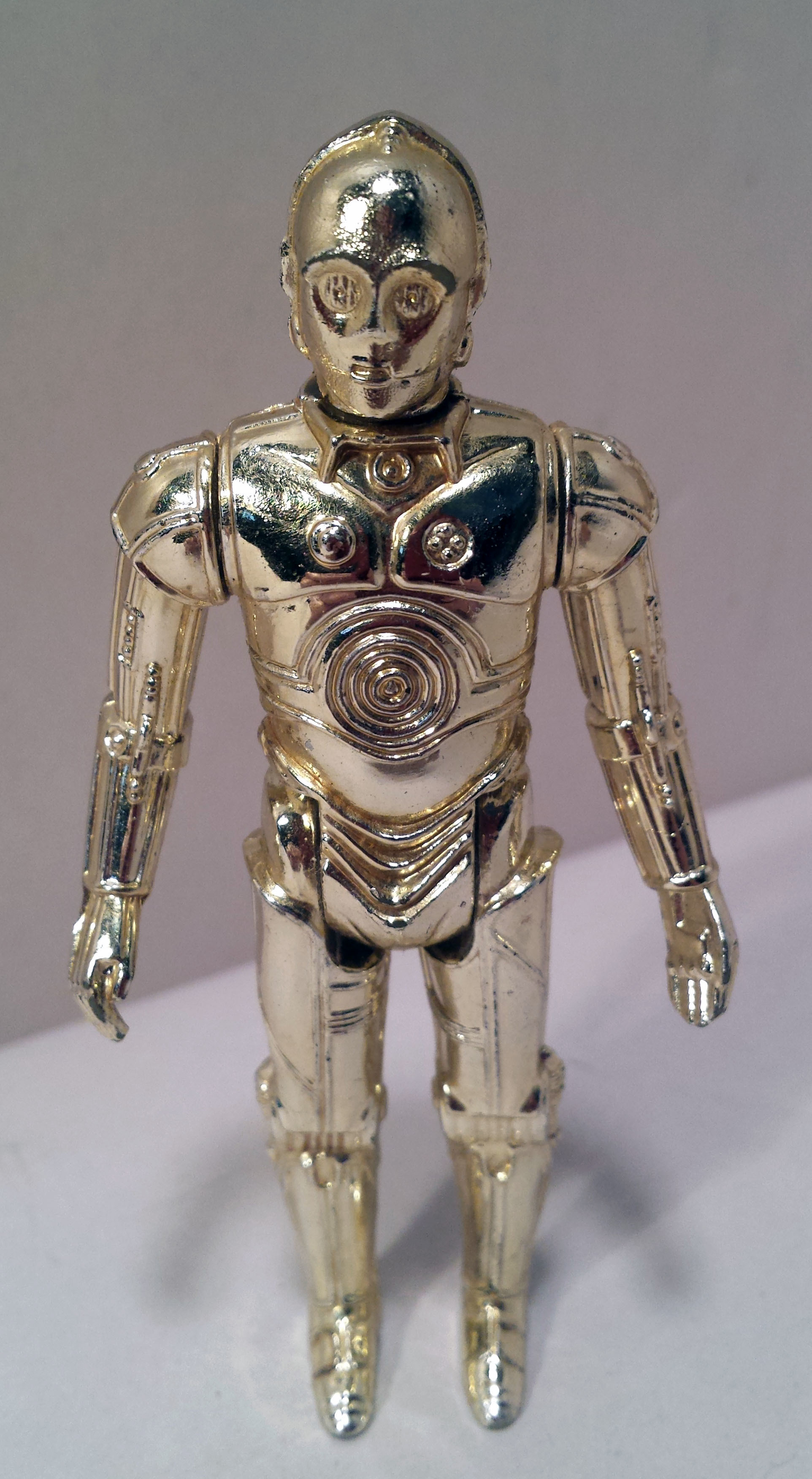 Vintage 1977 Star Wars C-3PO C3PO Hong Kong Kenner Action Figure Loose