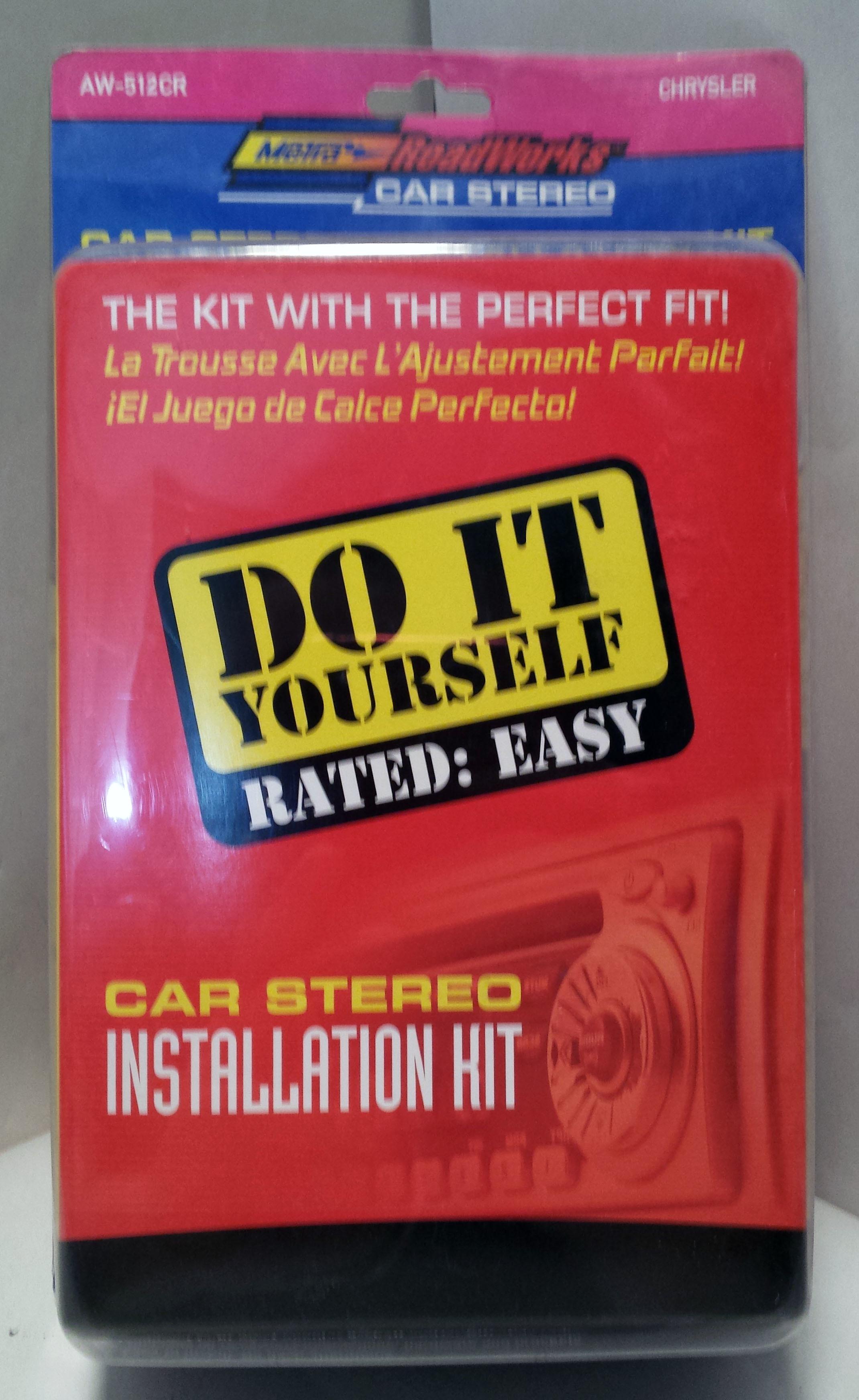 Metra RoadWorks Car Stereo Installation Kit for Chrysler Vehicles AW-512CR