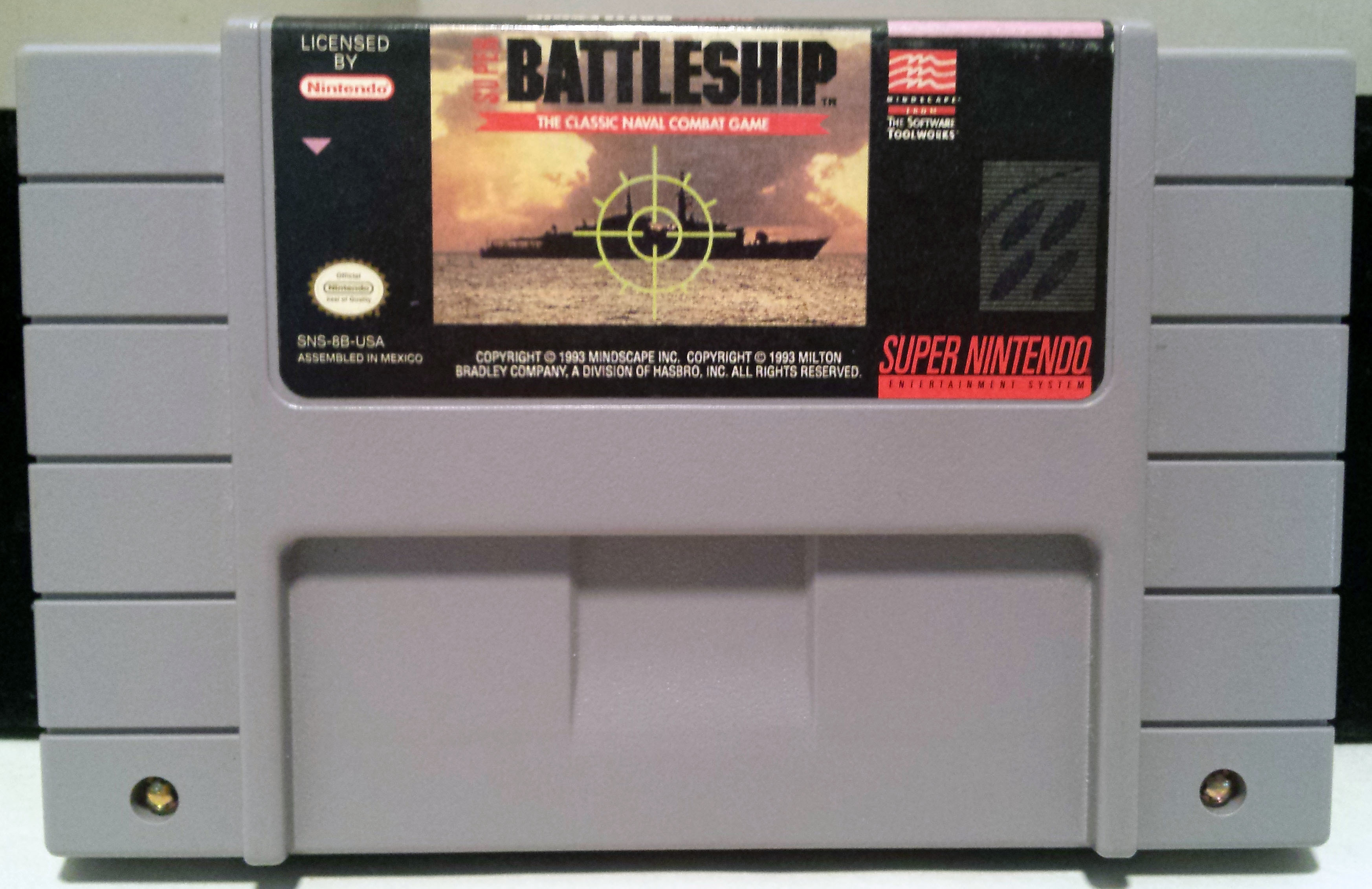 Super Battleship (Super Nintendo Entertainment System, 1993)