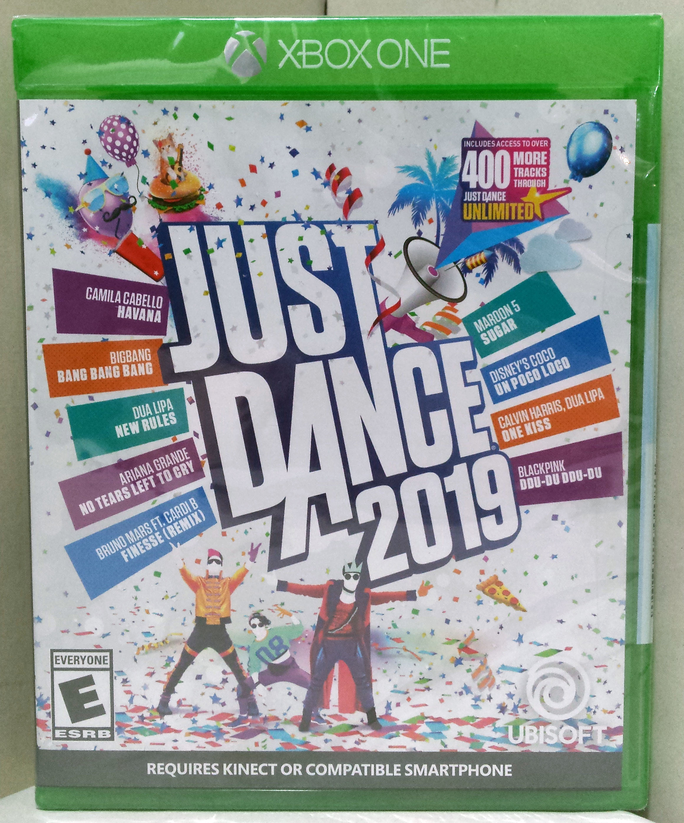 Just Dance 2019 (Microsoft Xbox One, 2018) Brand New & Factory Sealed