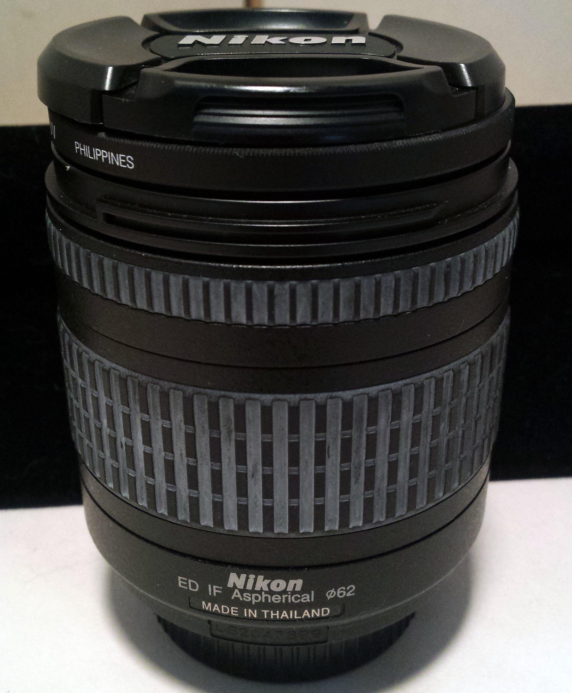 Nikon AF Nikkor 28-200mm f/3.5-5.6 ED G Lens Made in Thailand