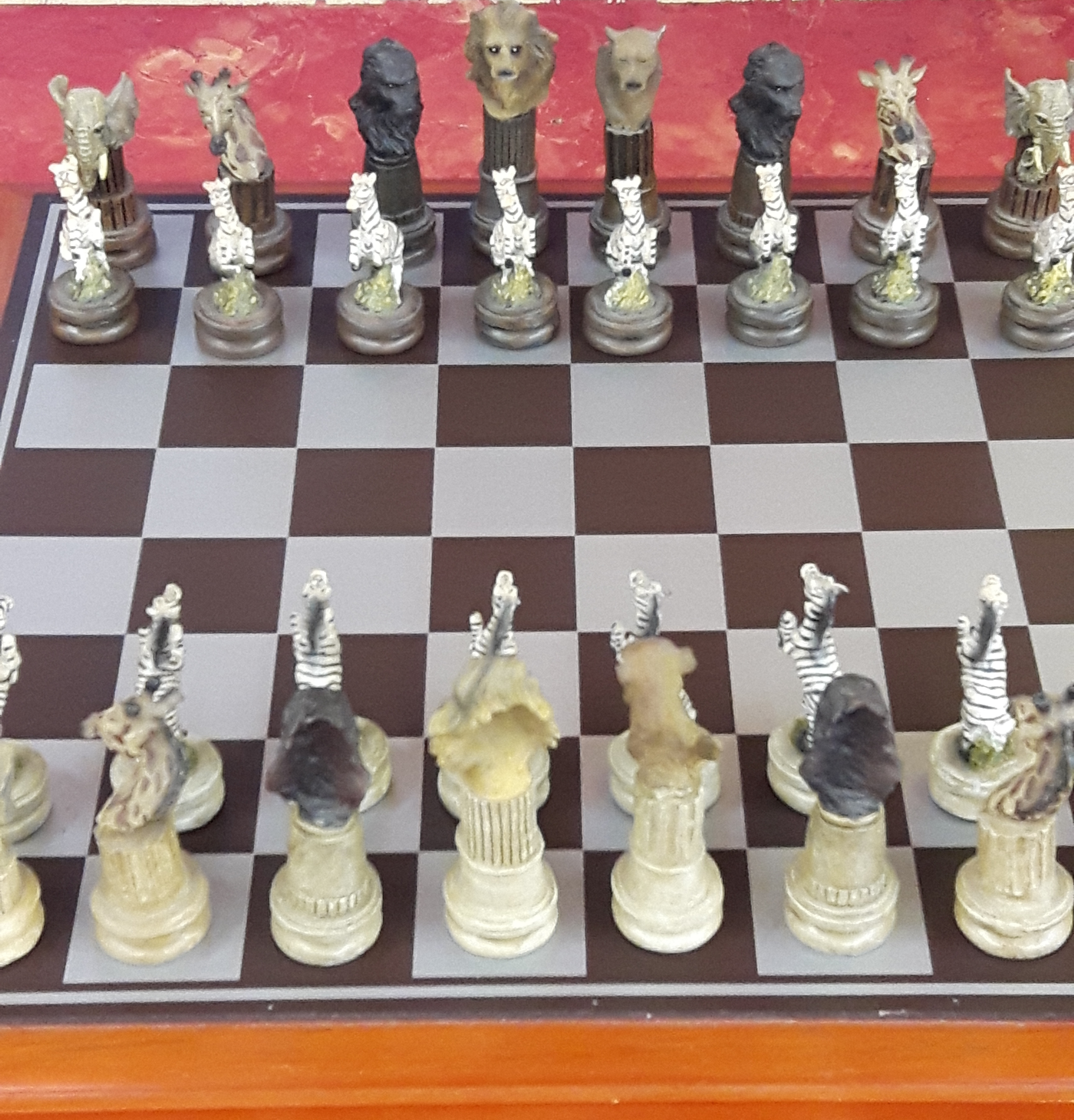 - AFRICAN - CHESS SET GAMES