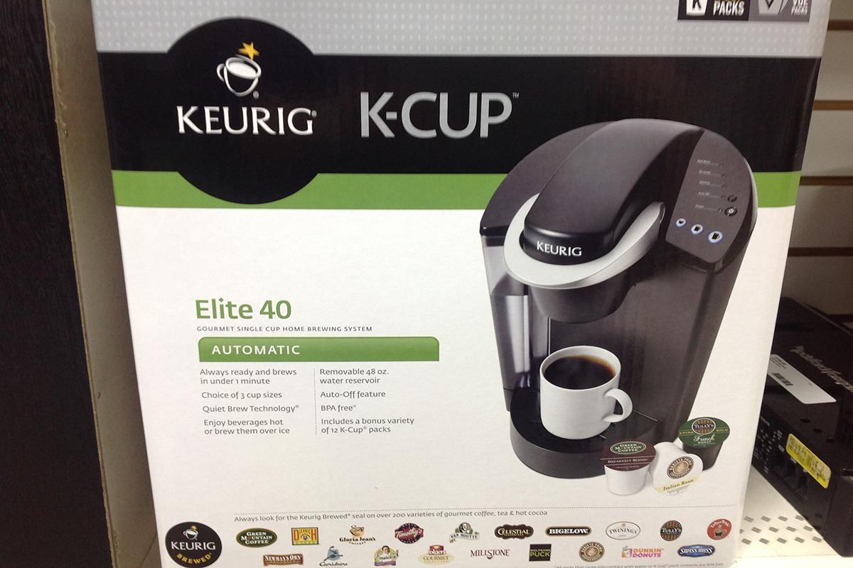 KEURIG - ELITE B40 - COFFEE MAKER PERSONAL ITEMS