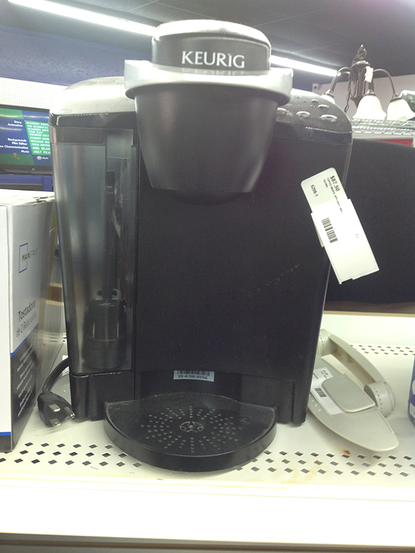 KEURIG -  - COFFEE MAKER APPLIANCE SMALL