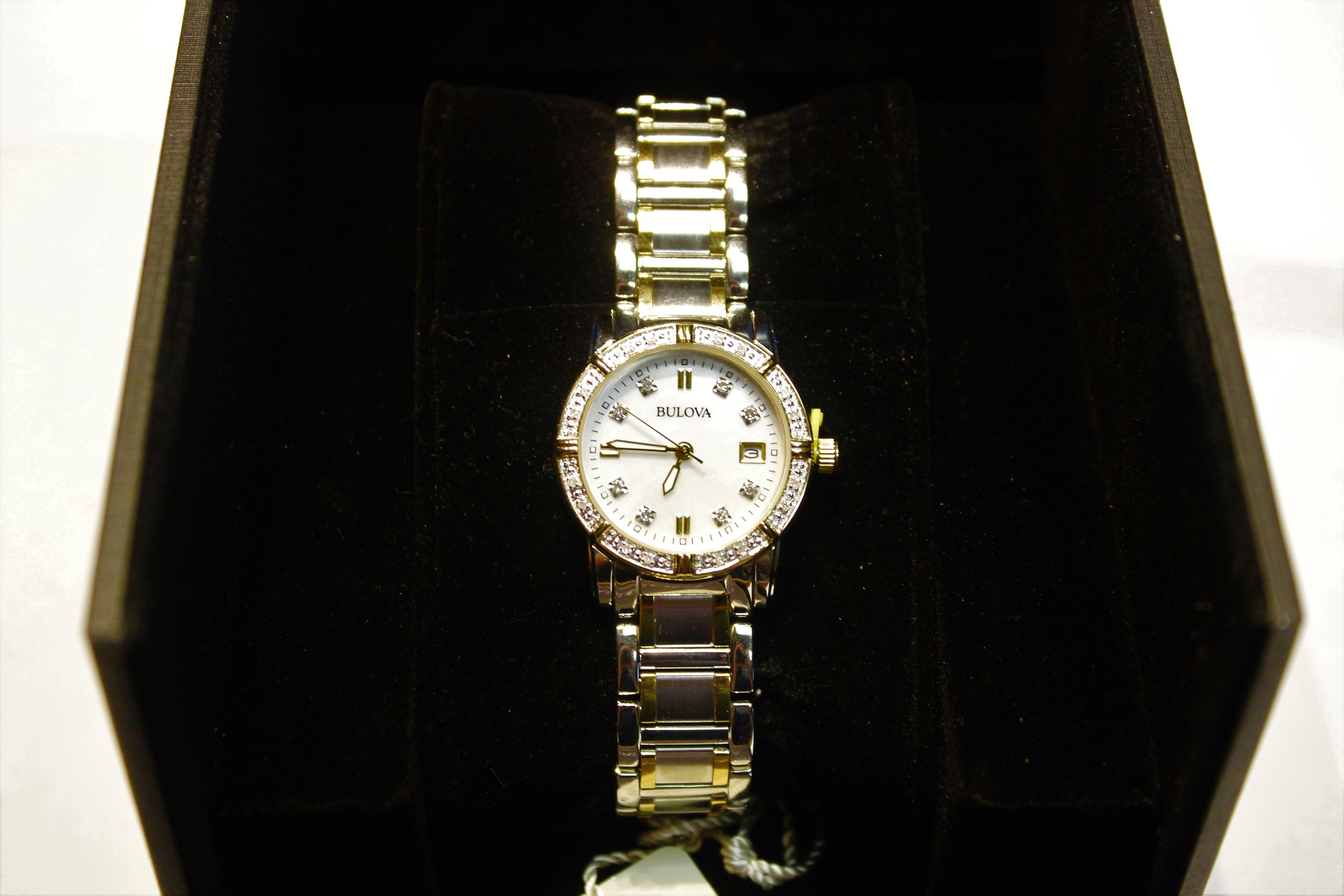 Bulova Women's Wrist Watch Model 98R107