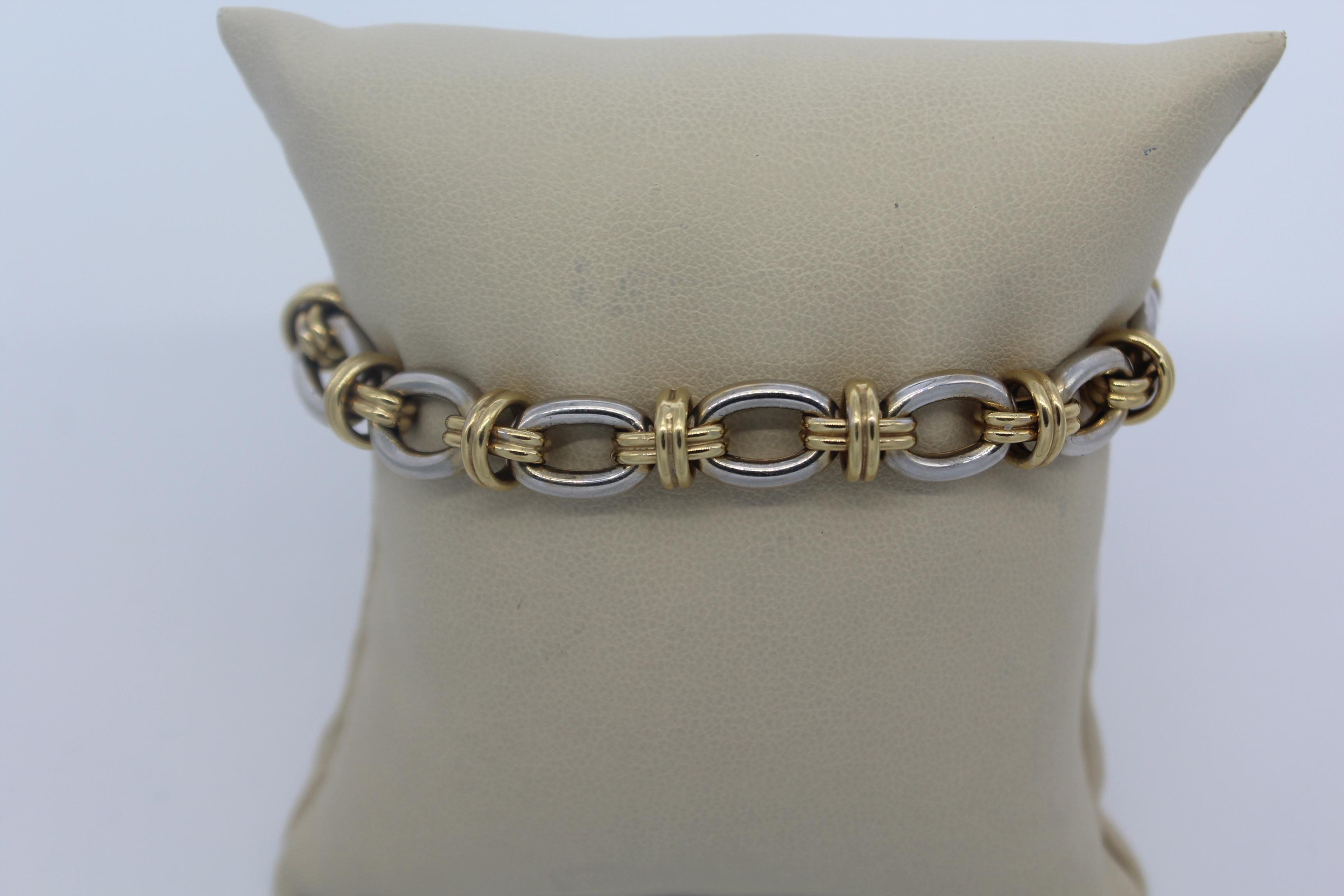 14K Yellow Gold Men's Bracelet