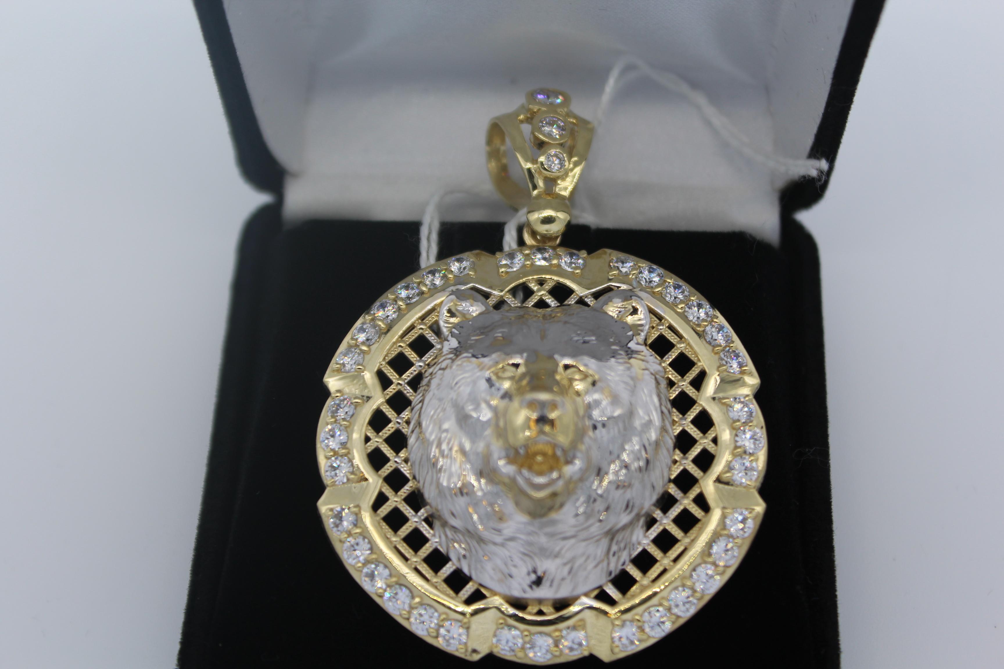 10K Yellow Gold Men's Pendant