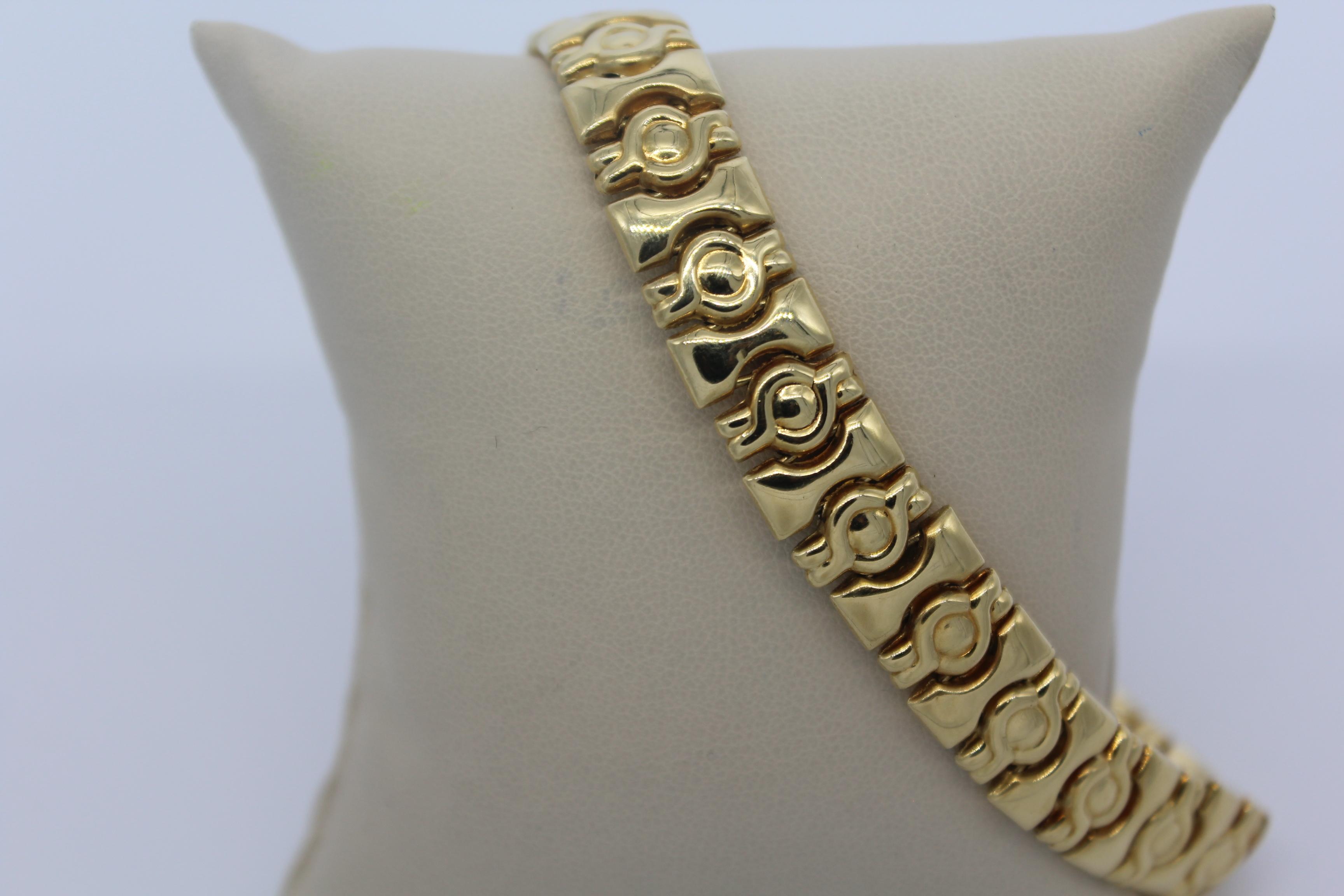 18K Yellow Gold Women's Bracelet