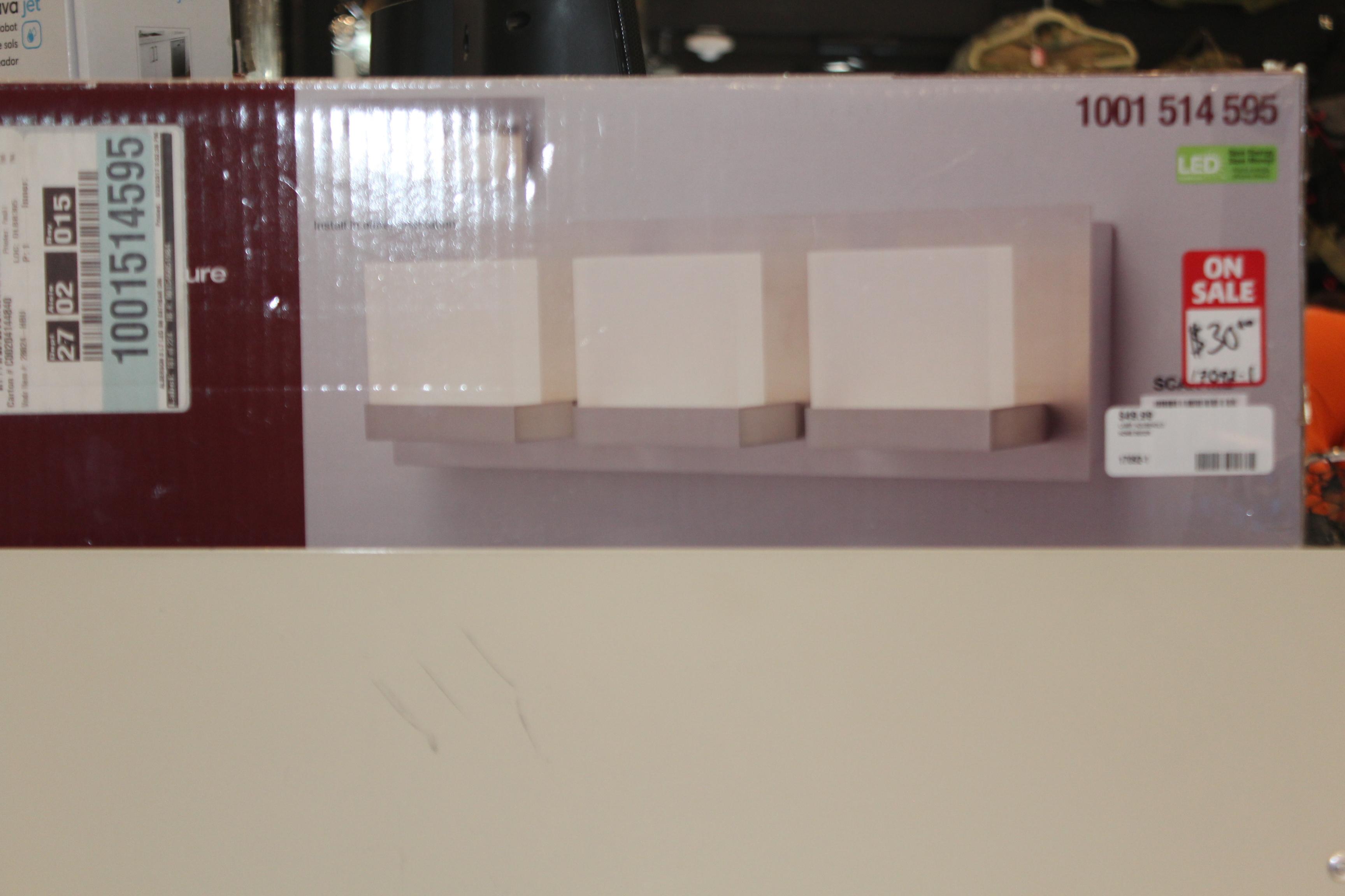 Home Decor 3 - Light LED Vanity Fixture