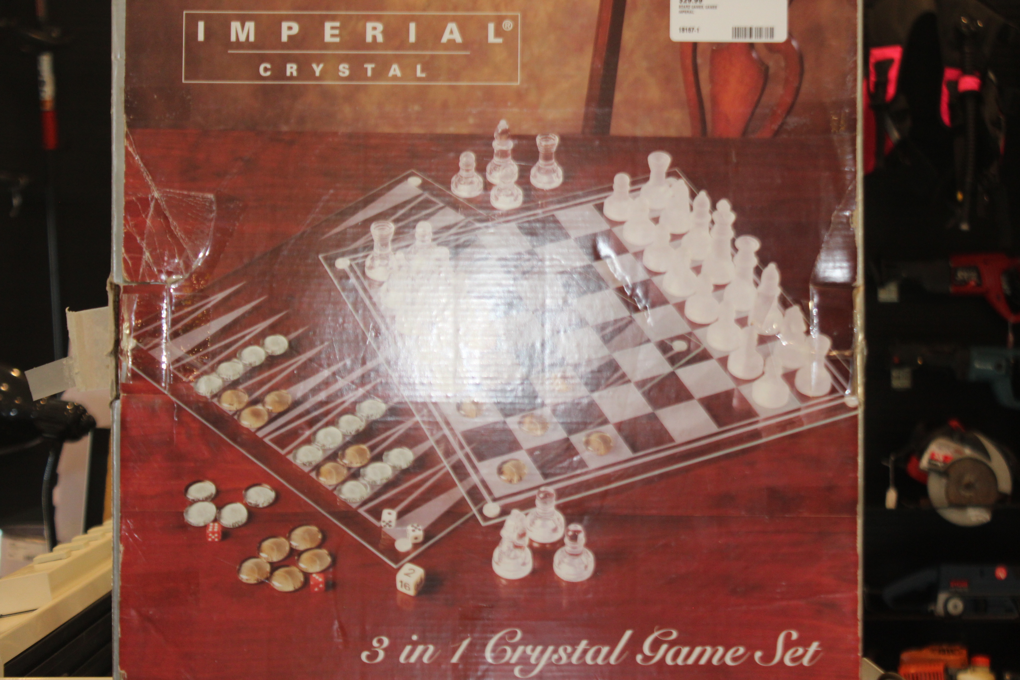 Imperial Crystal 3 in 1 Crystal Game Set