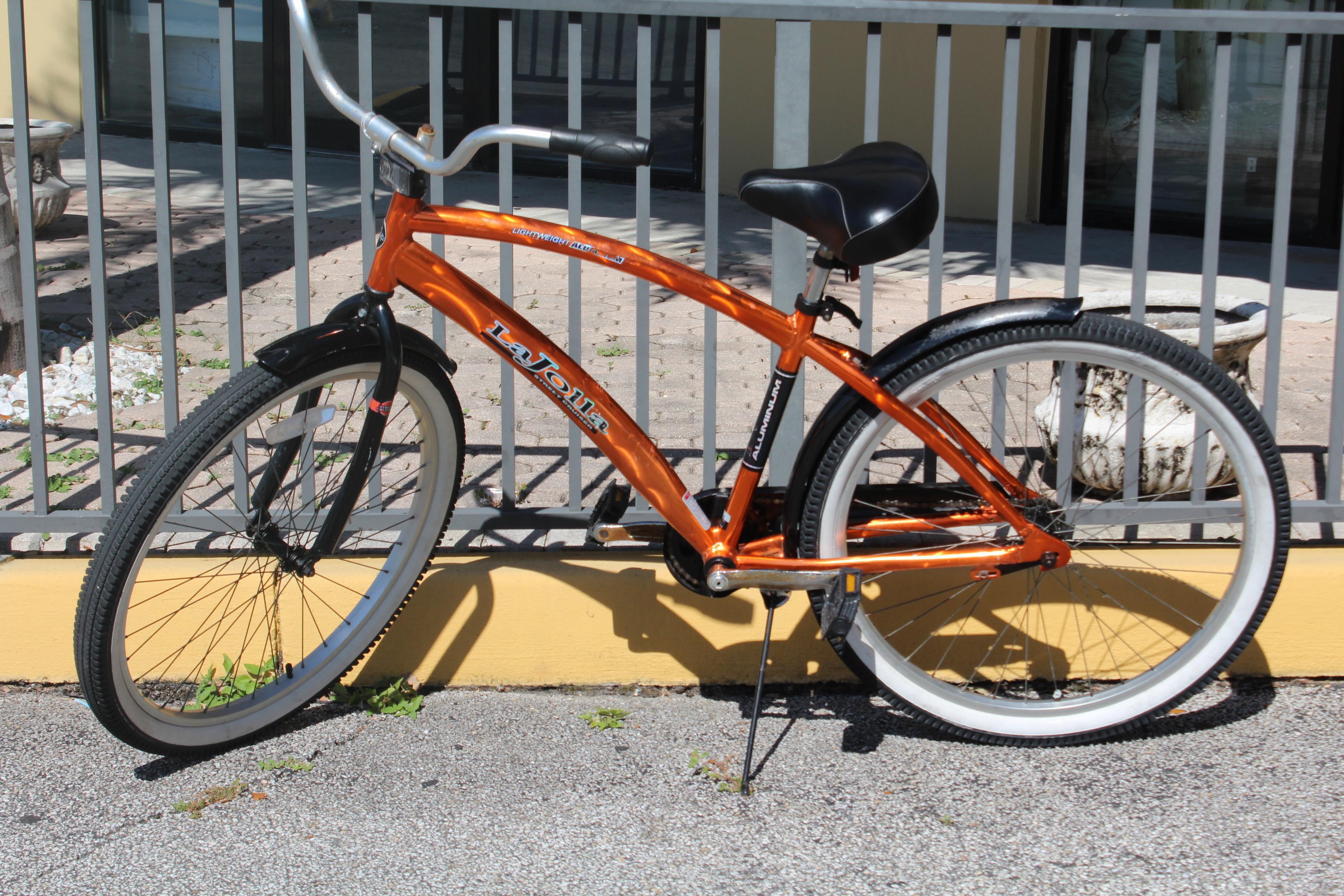Lajolla Street Cruiser Orange Bicycle