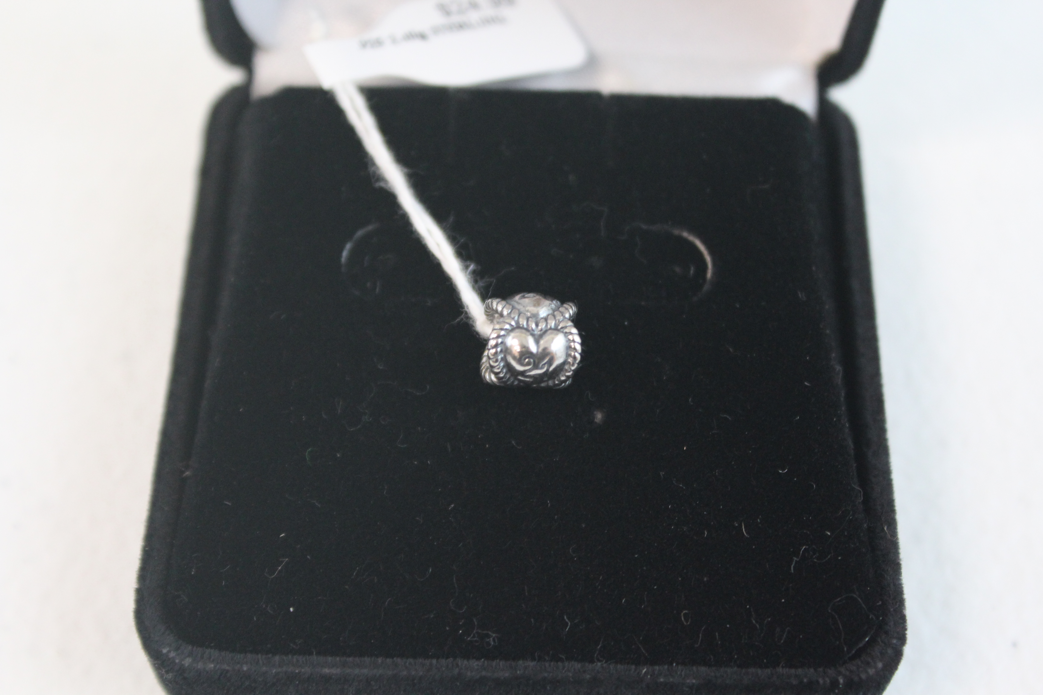 Sterling Silver Heart Pendant/Charm