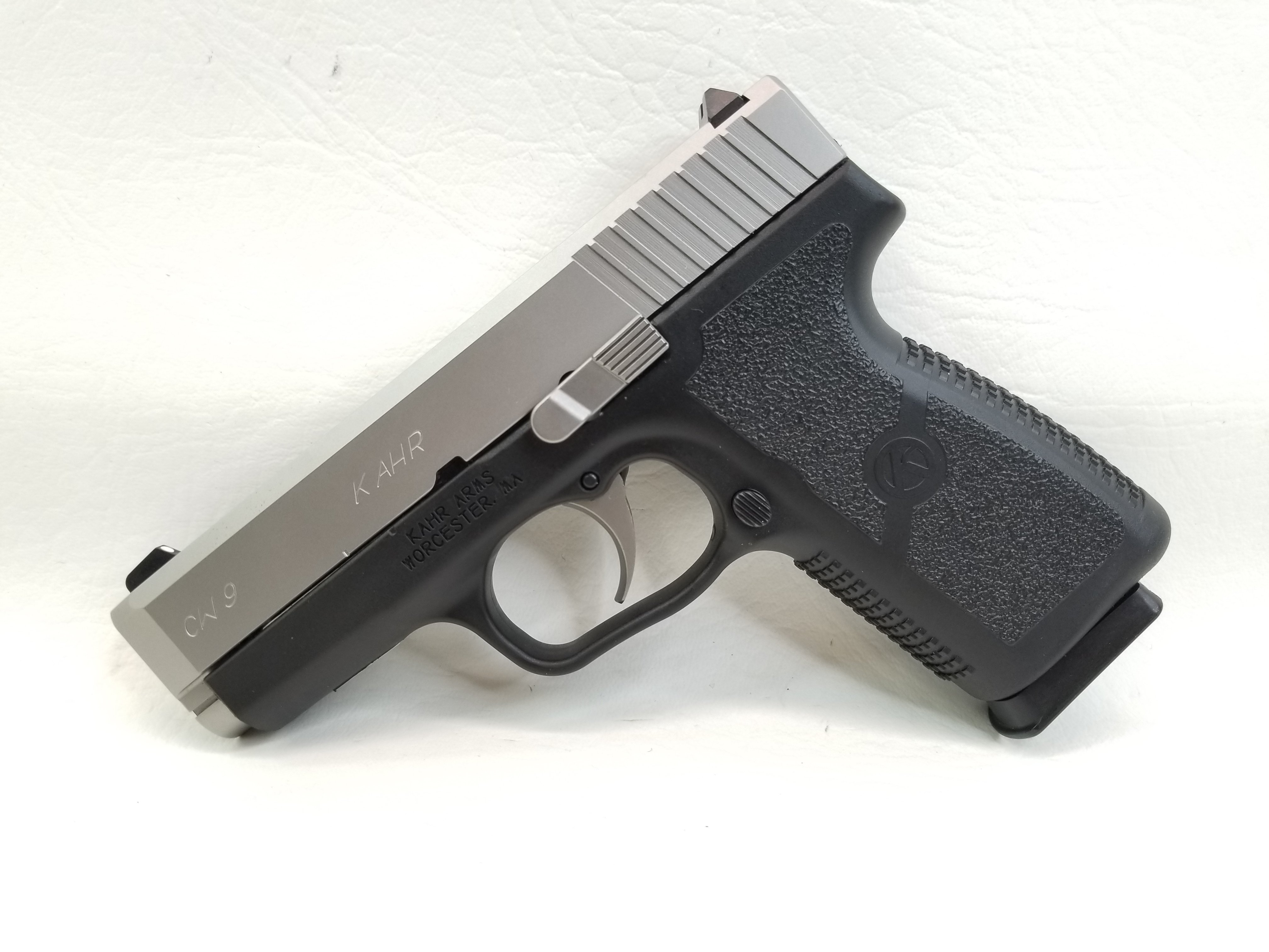 Kahr Model CW9 9mm Semi Auto in Original Box - Semi Auto Pistols at
