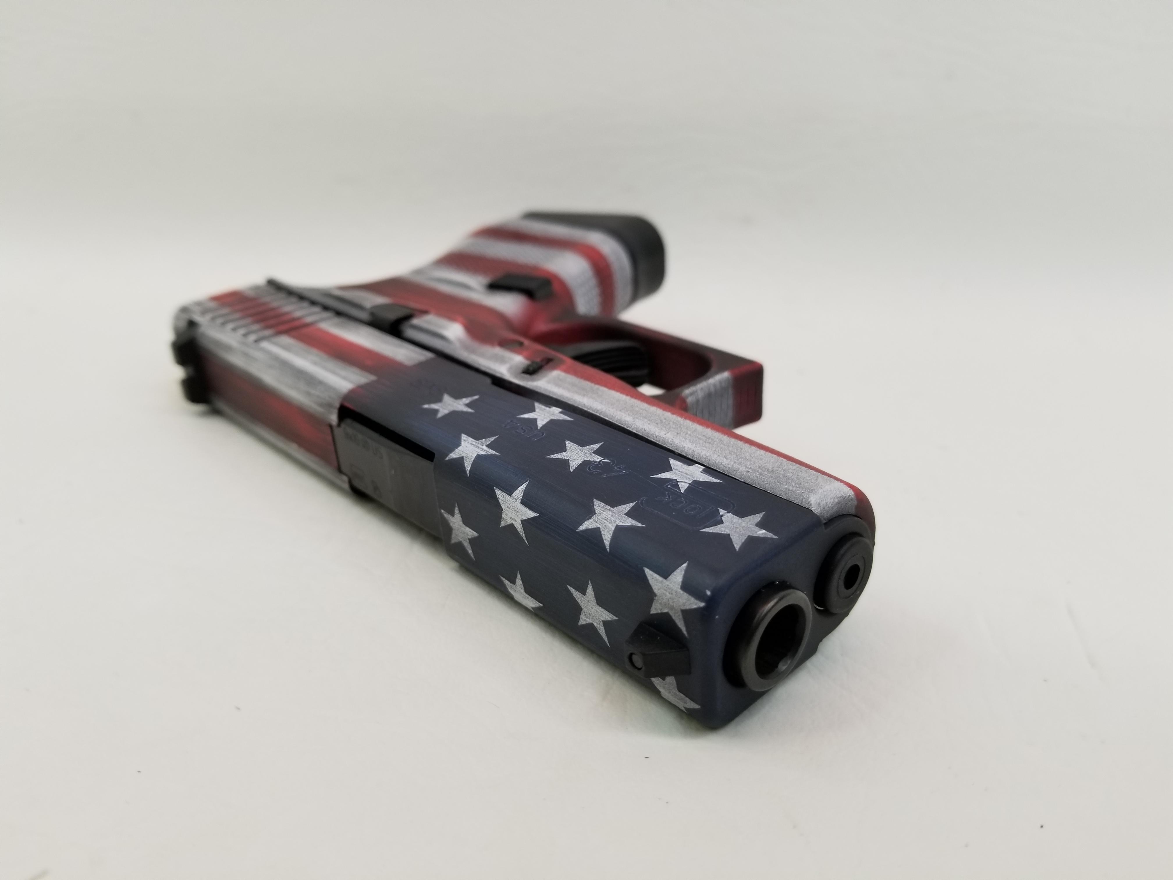Glock G43 Battleworn American Flag 6rd NIB-img-3