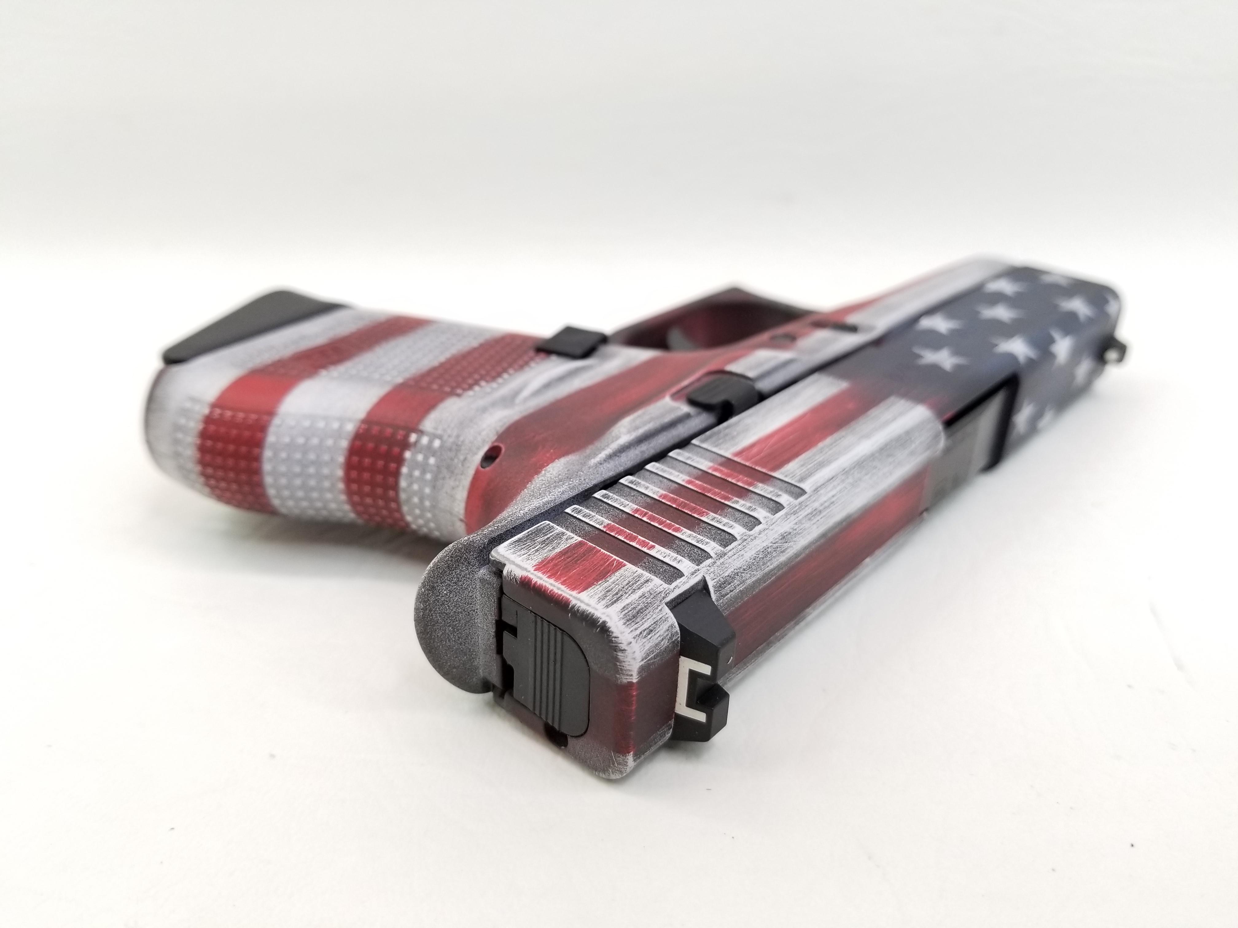 Glock G43 Battleworn American Flag 6rd NIB-img-4