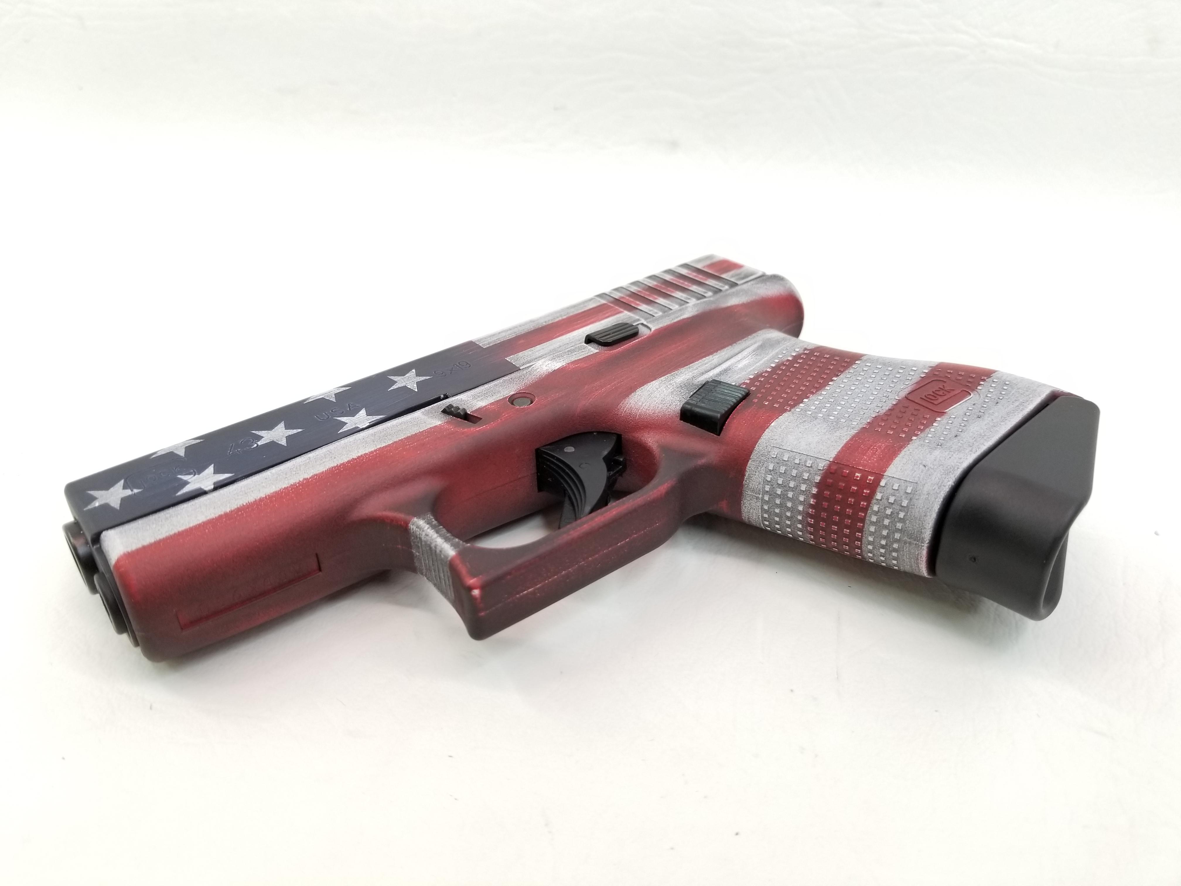 Glock G43 Battleworn American Flag 6rd NIB-img-5