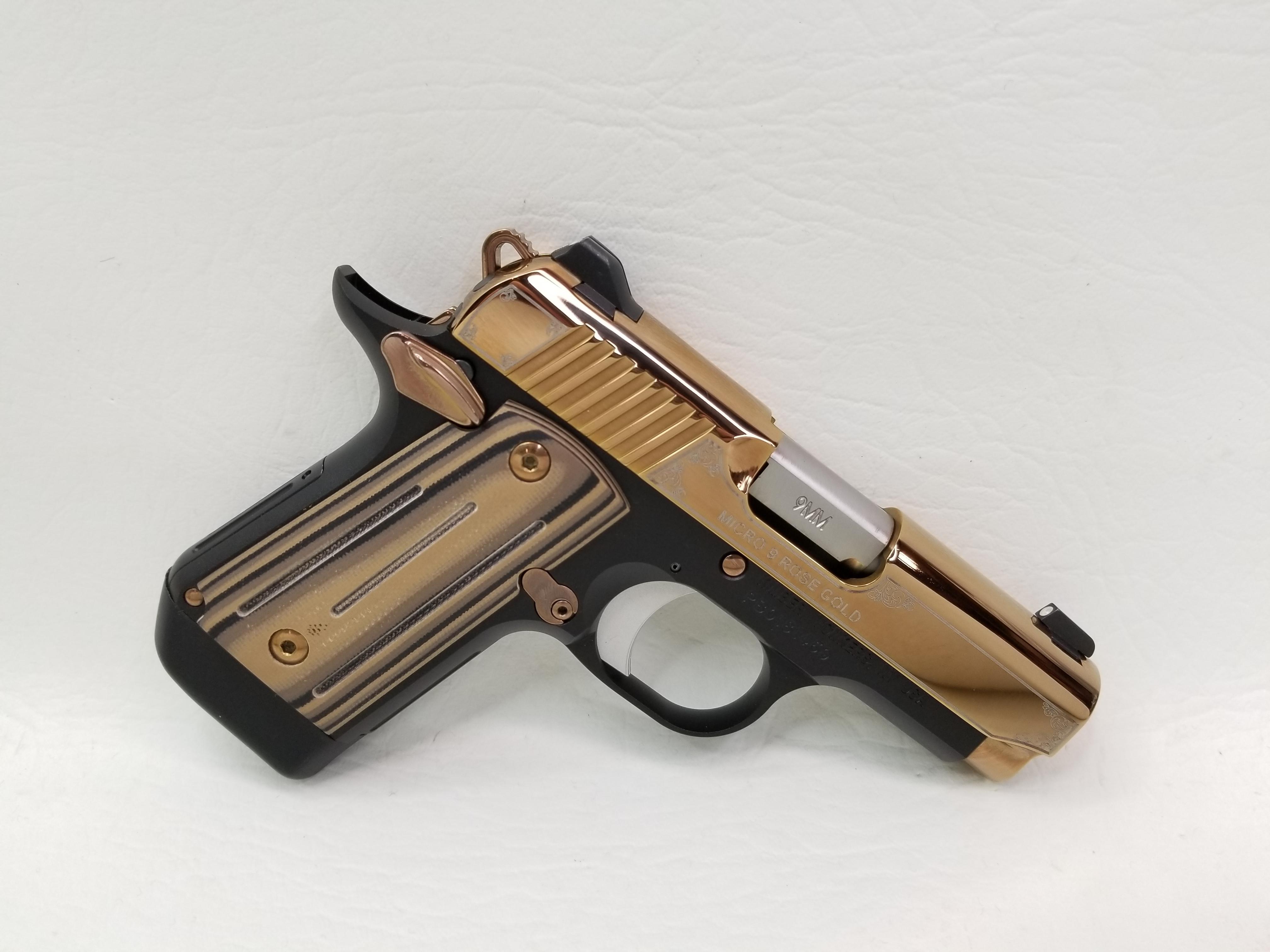Kimber Micro 9 Rose Gold 9mm - Semi Auto Pistols at
