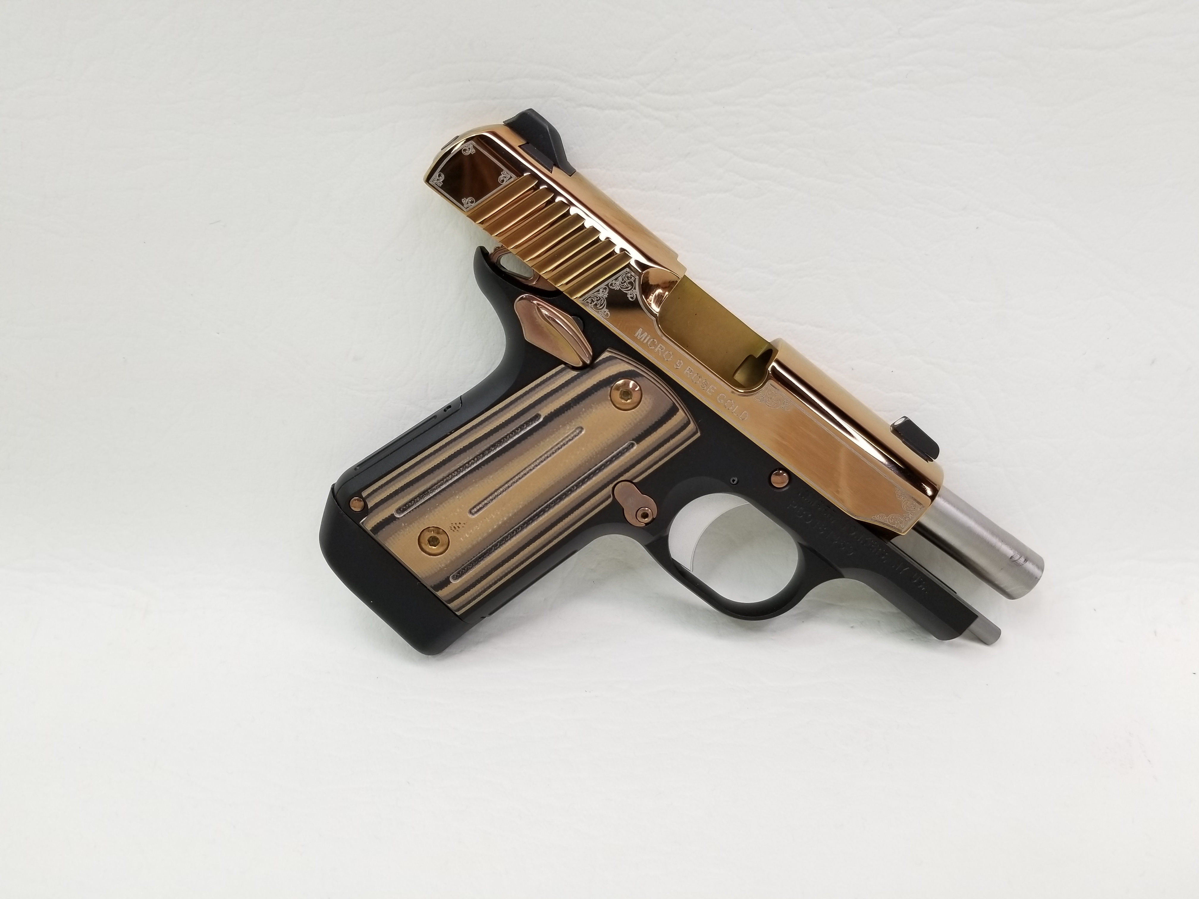 Kimber Micro 9 Rose Gold 9mm - Semi Auto Pistols at