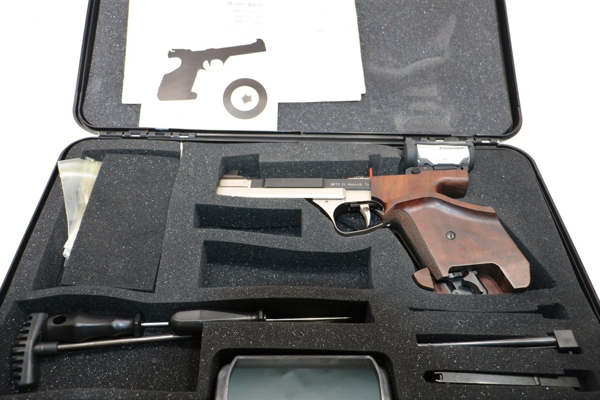 Feinwerkbau AW93 22 LR Match Pistol w/Optic & More - Semi