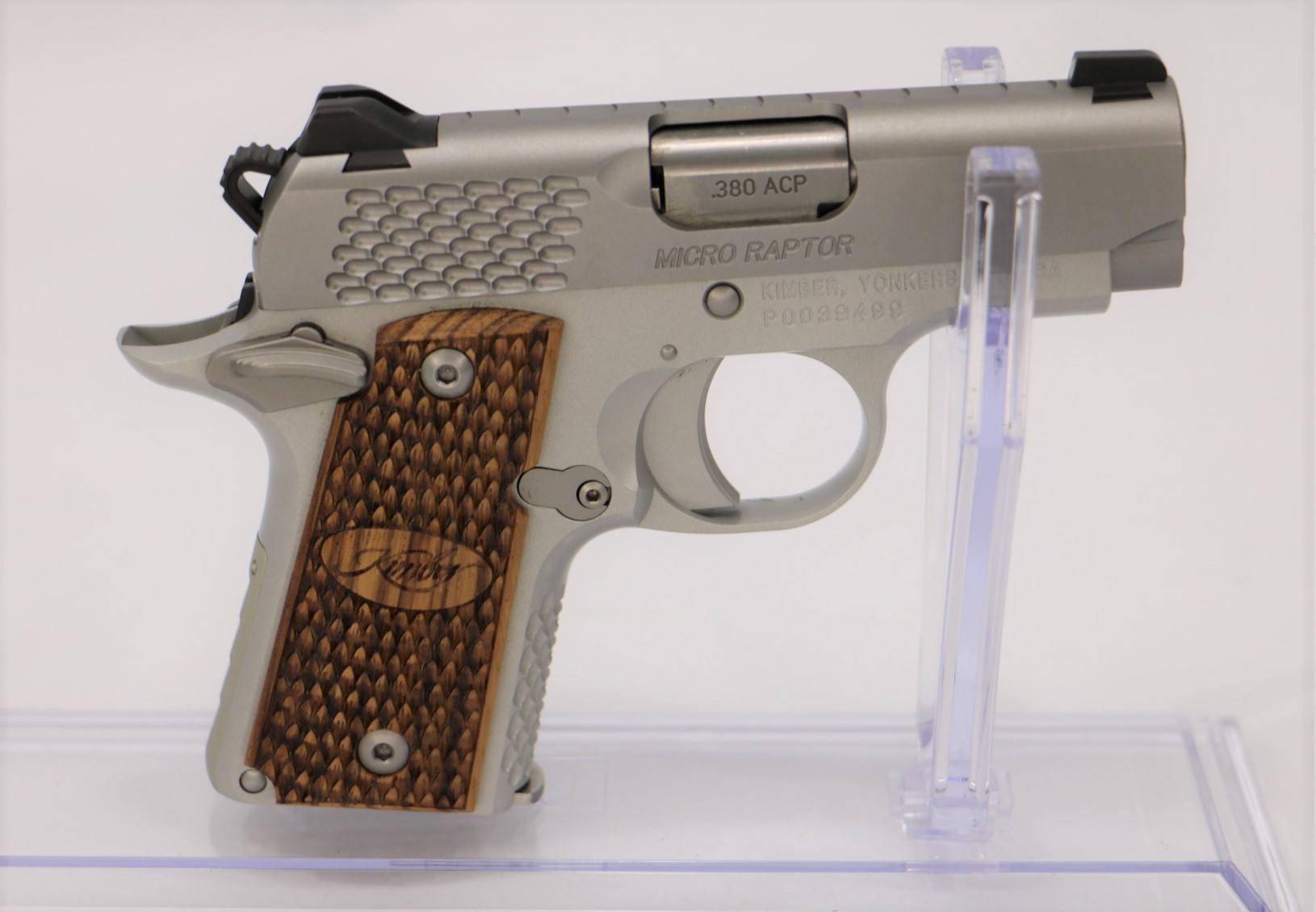 Kimber Micro Raptor .380 ACP w/Original Box and 1-img-0