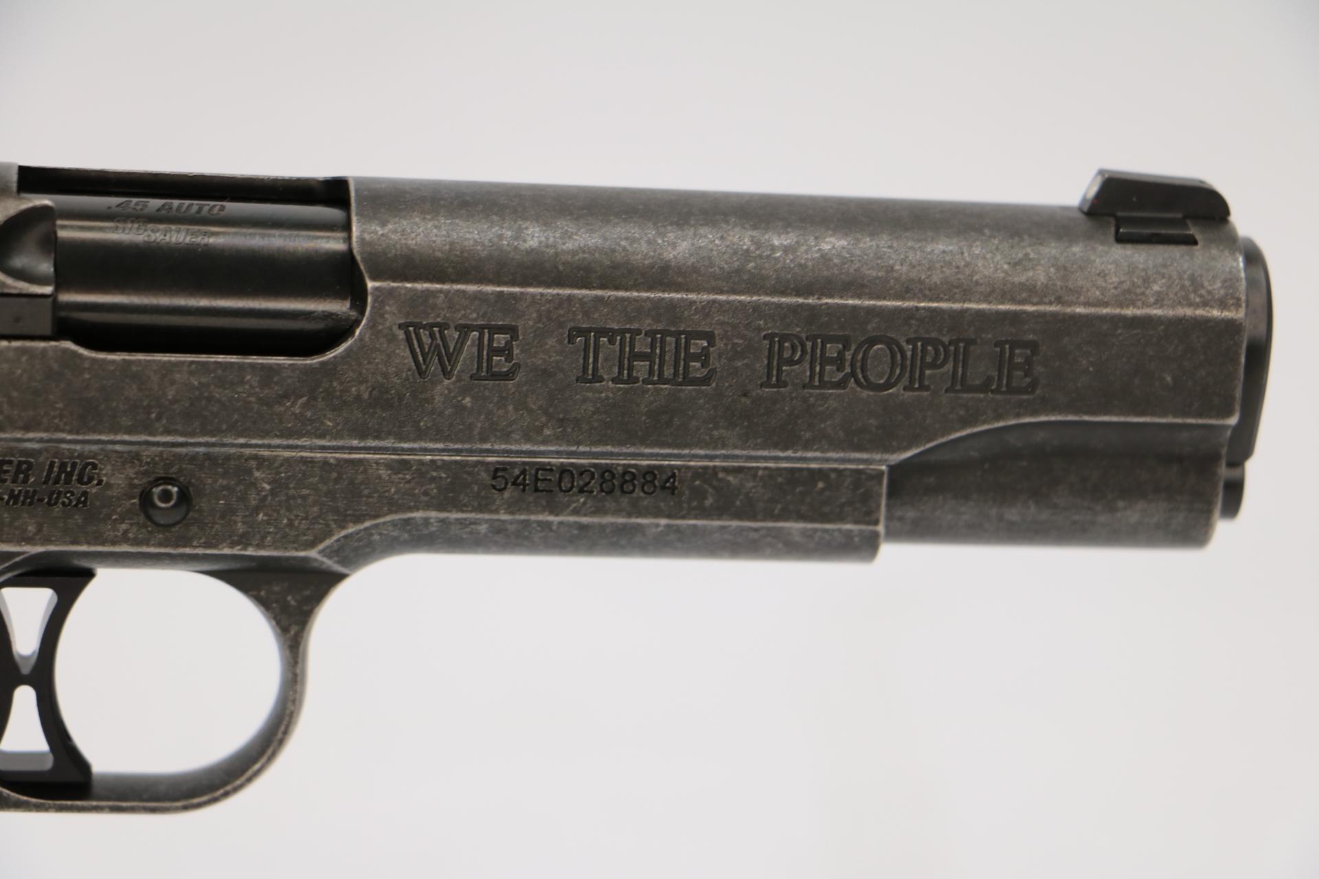 "Sig Sauer 1911 ""We The People"" 45 ACP-img-1"