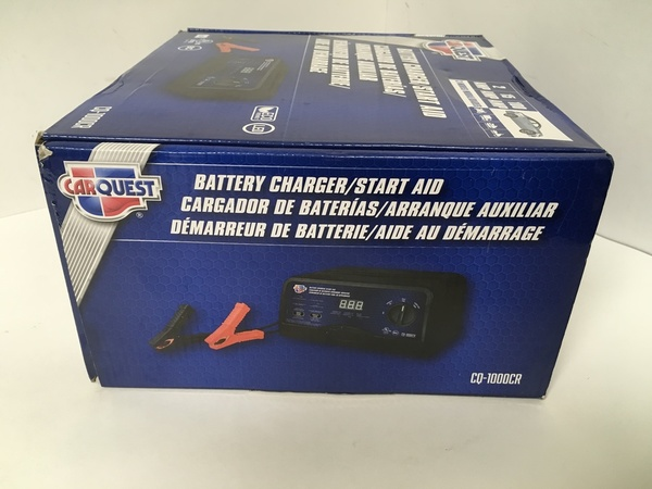 New Carquest Battery Charger Start Aid Cq 1000cr 889603527264 Ebay