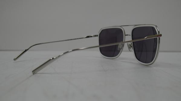 5730786d617e Dolce   Gabbana DG2165 White Silver Frame Mirror Lens Sunglasses