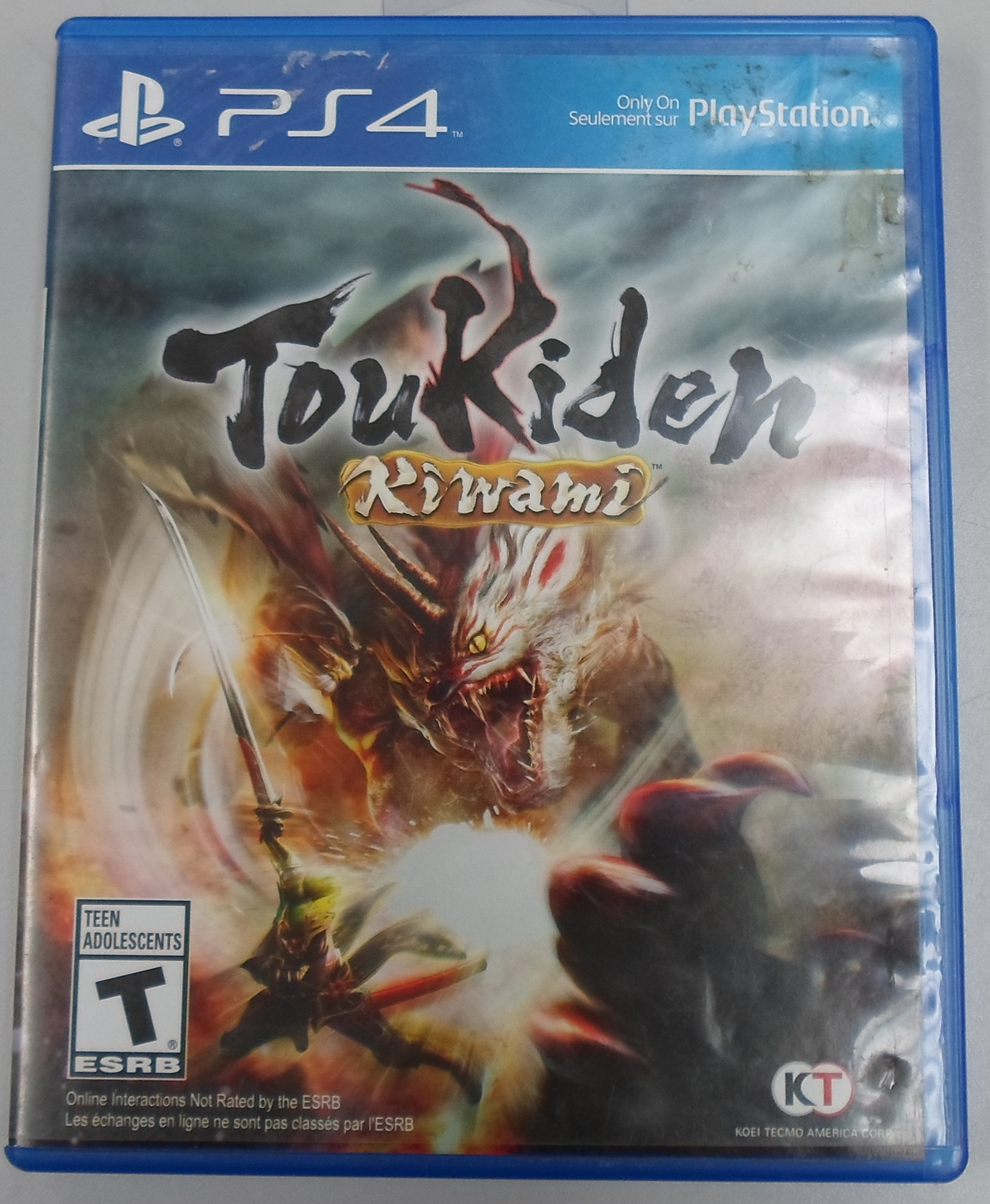 TOUKIDEN KIWAMI - PS4 GAME