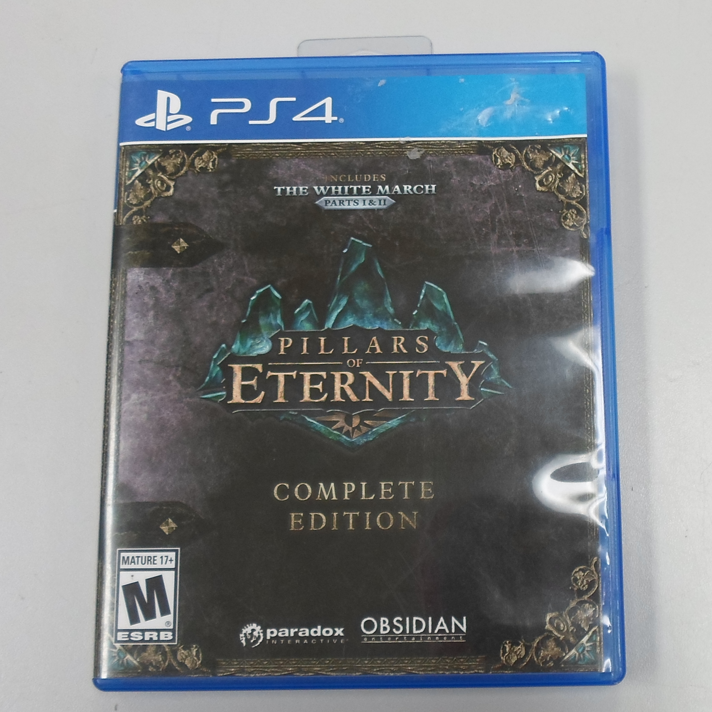 PILLARS OF ETERNITY COMPLETE EDITION - PS4 GAME