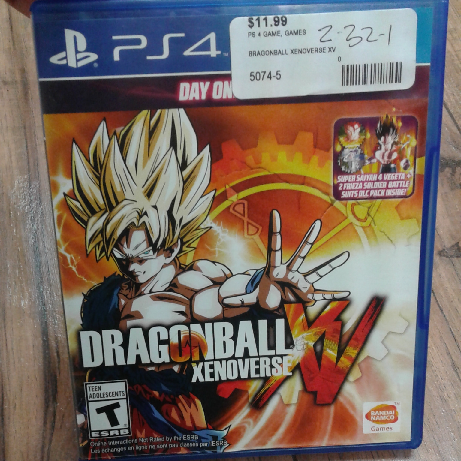 DRAGONBALL - PS4 GAME