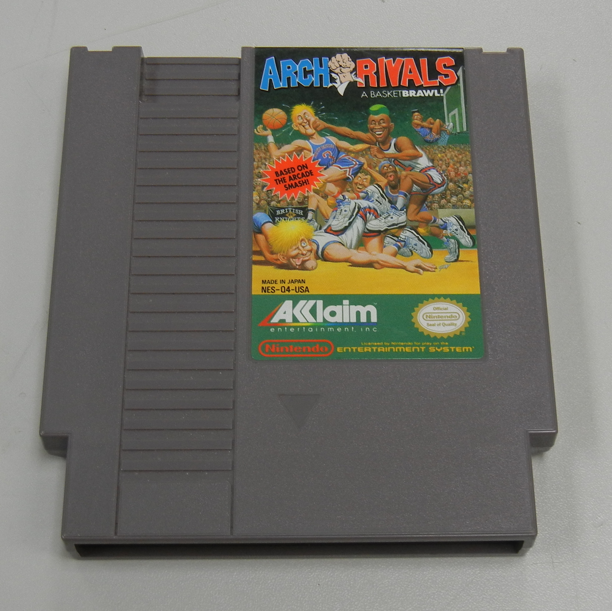 ARCH RIVALS NES GAME