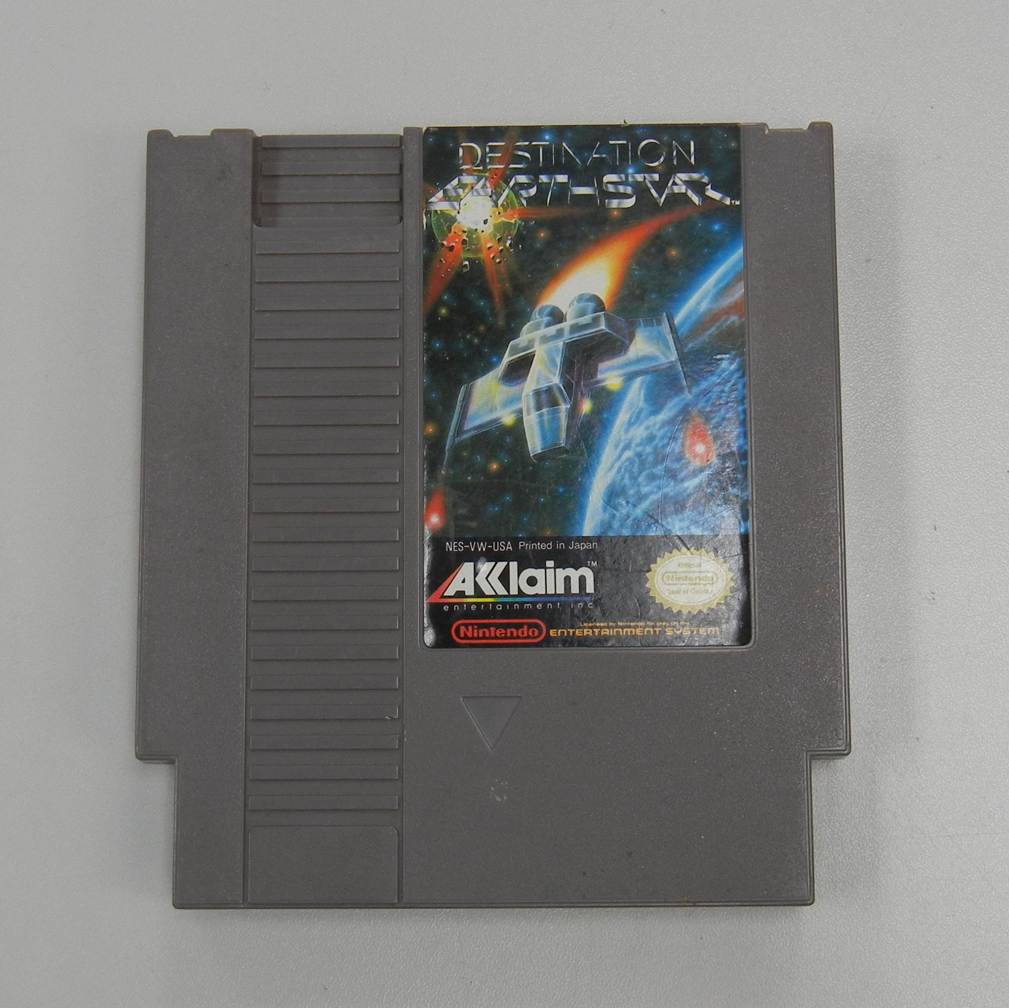 DESTINATION EARTH STAR NES GAME