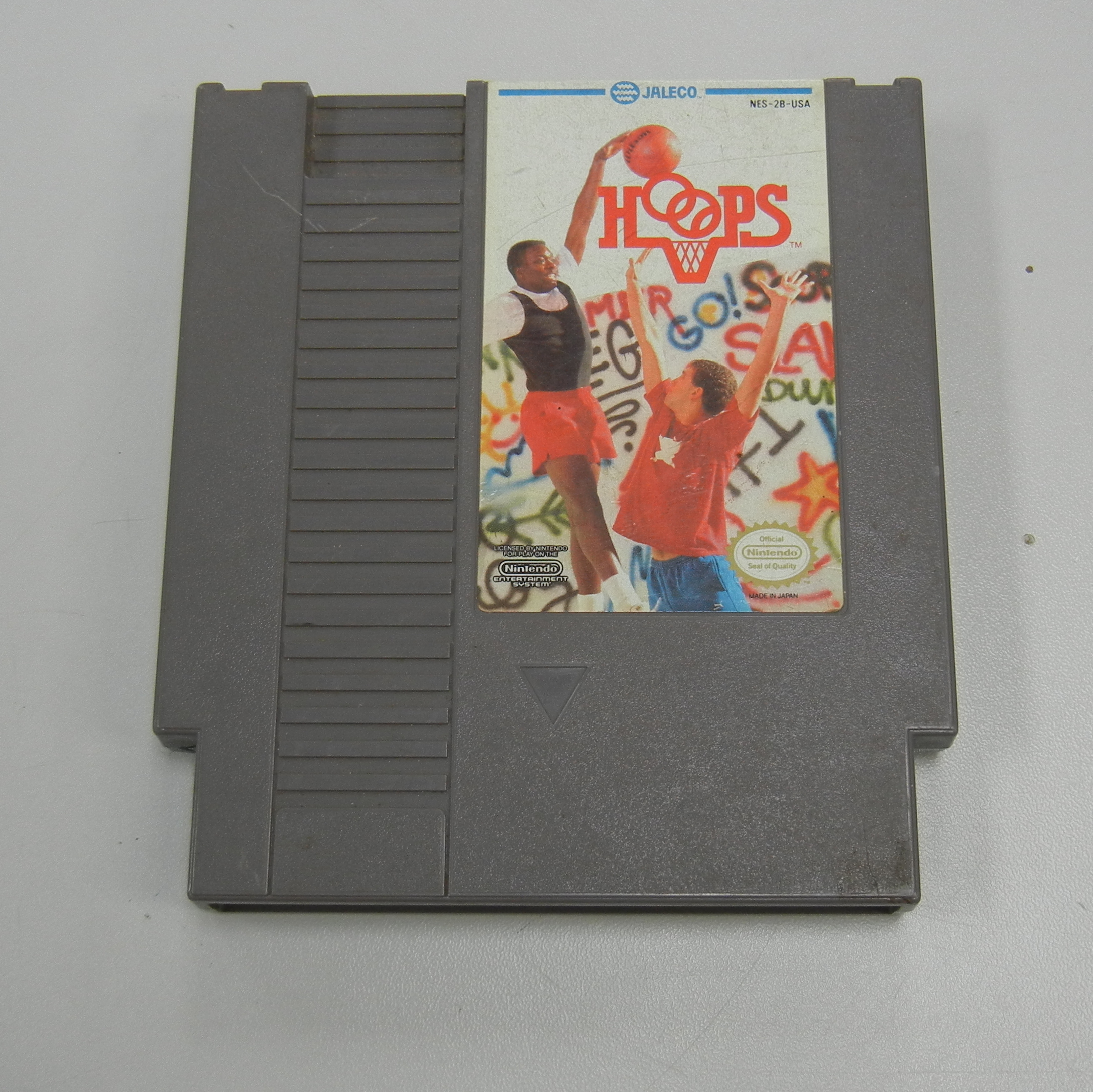 HOOPS - NES GAME