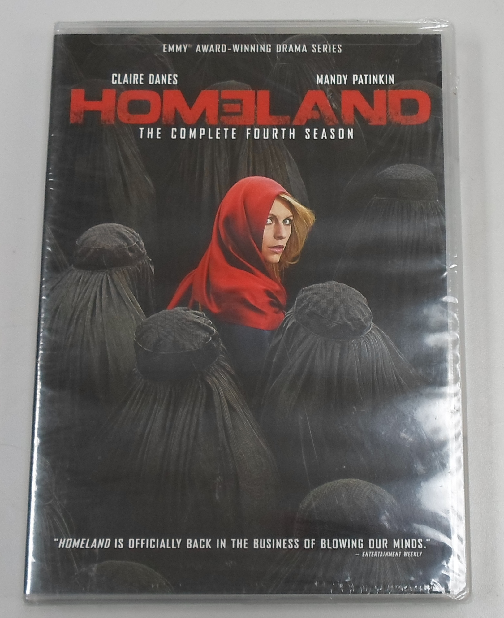 HOMELAND - SEASON 4 - DVD BOX SET - BRAND NEW