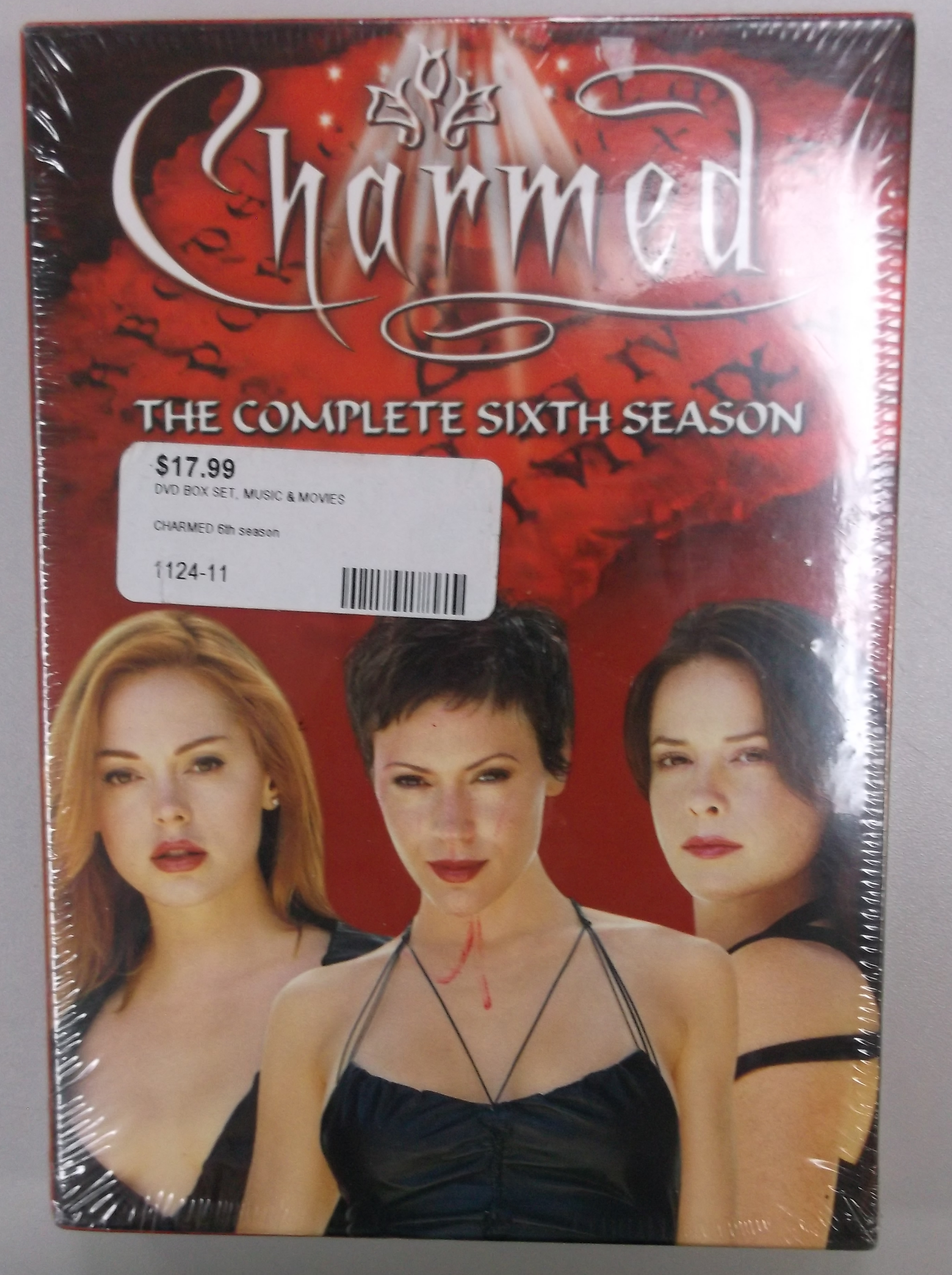CHARMED - SEASON 6 - DVD BOX SET