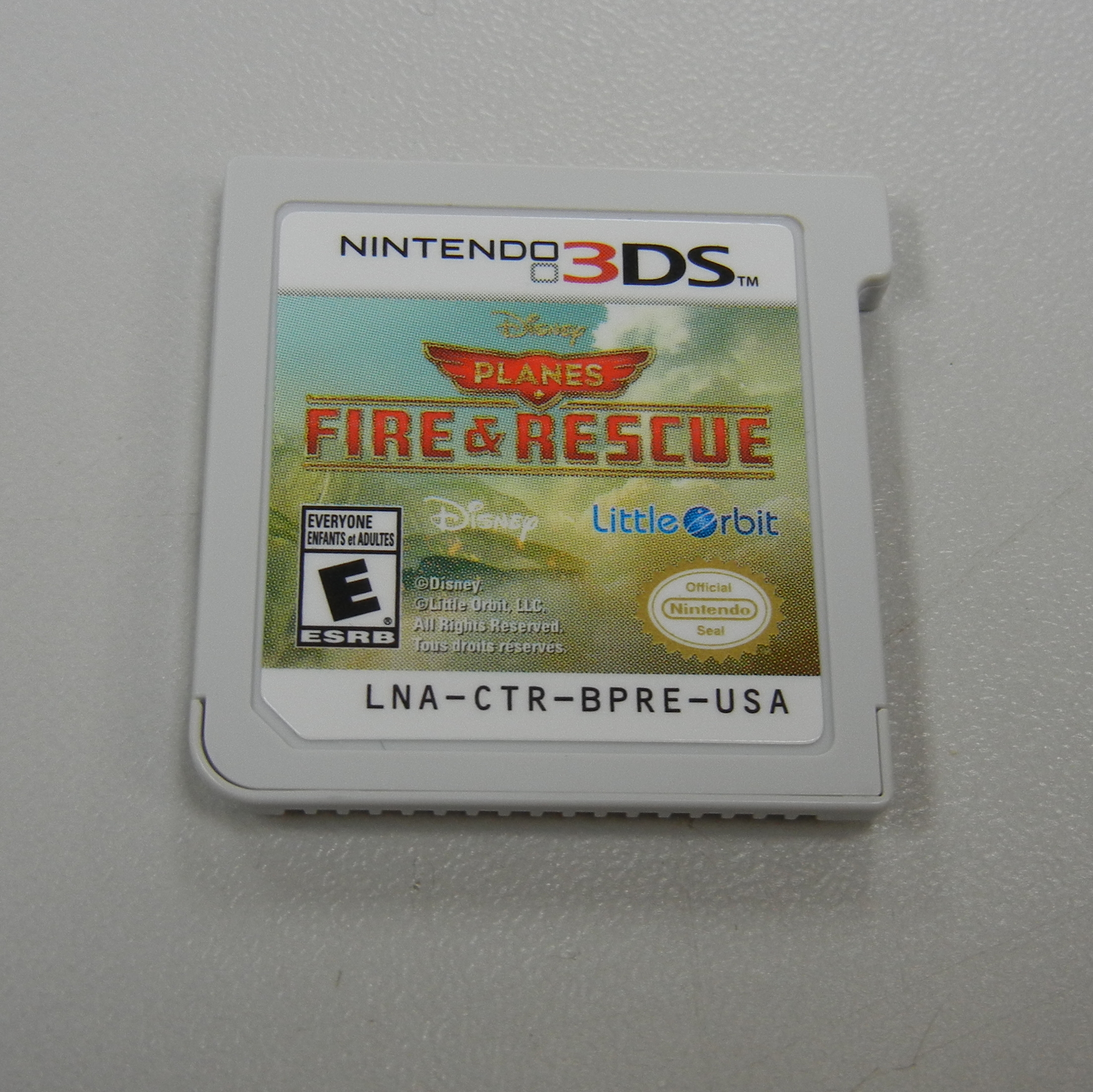 PLANES FIRE AND RESCUE 3DS GAME
