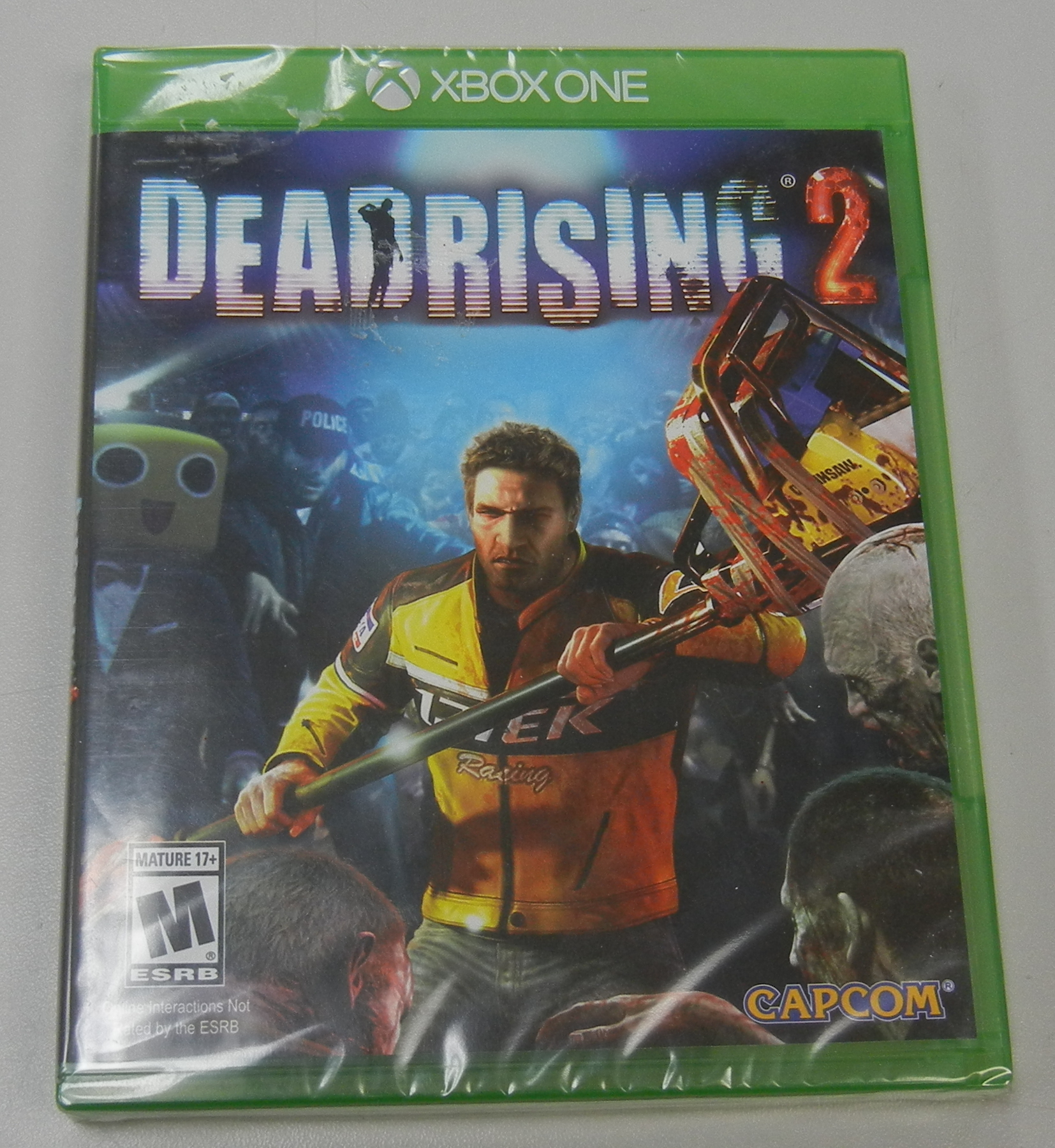 DEADRISING 2 XBOX ONE GAMES - REFURBISHED IN PLASTIC