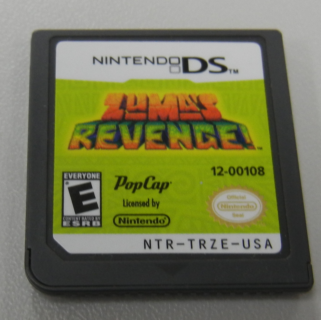 ZUMA REVENGE! DS GAME