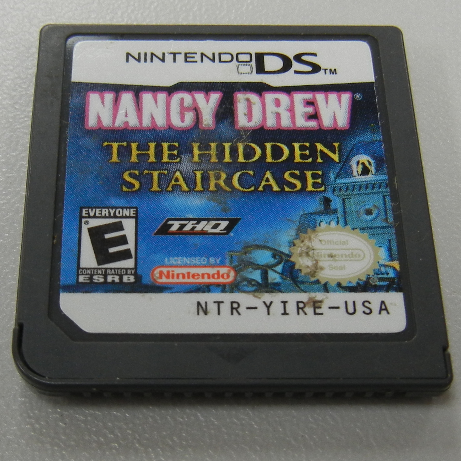 NANCY DREW NINTENDO DS GAME