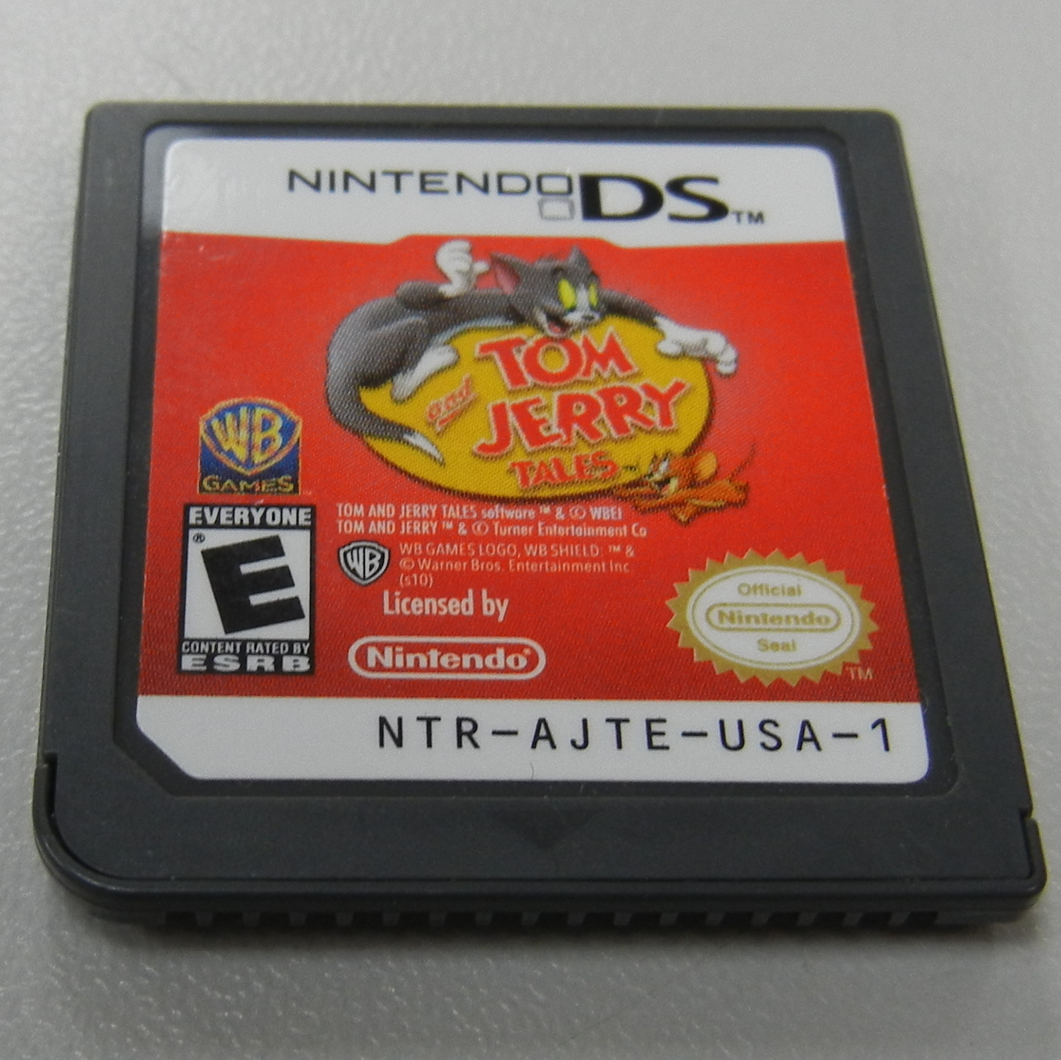 TOM & JERRY TALES NINTENDO DS GAME